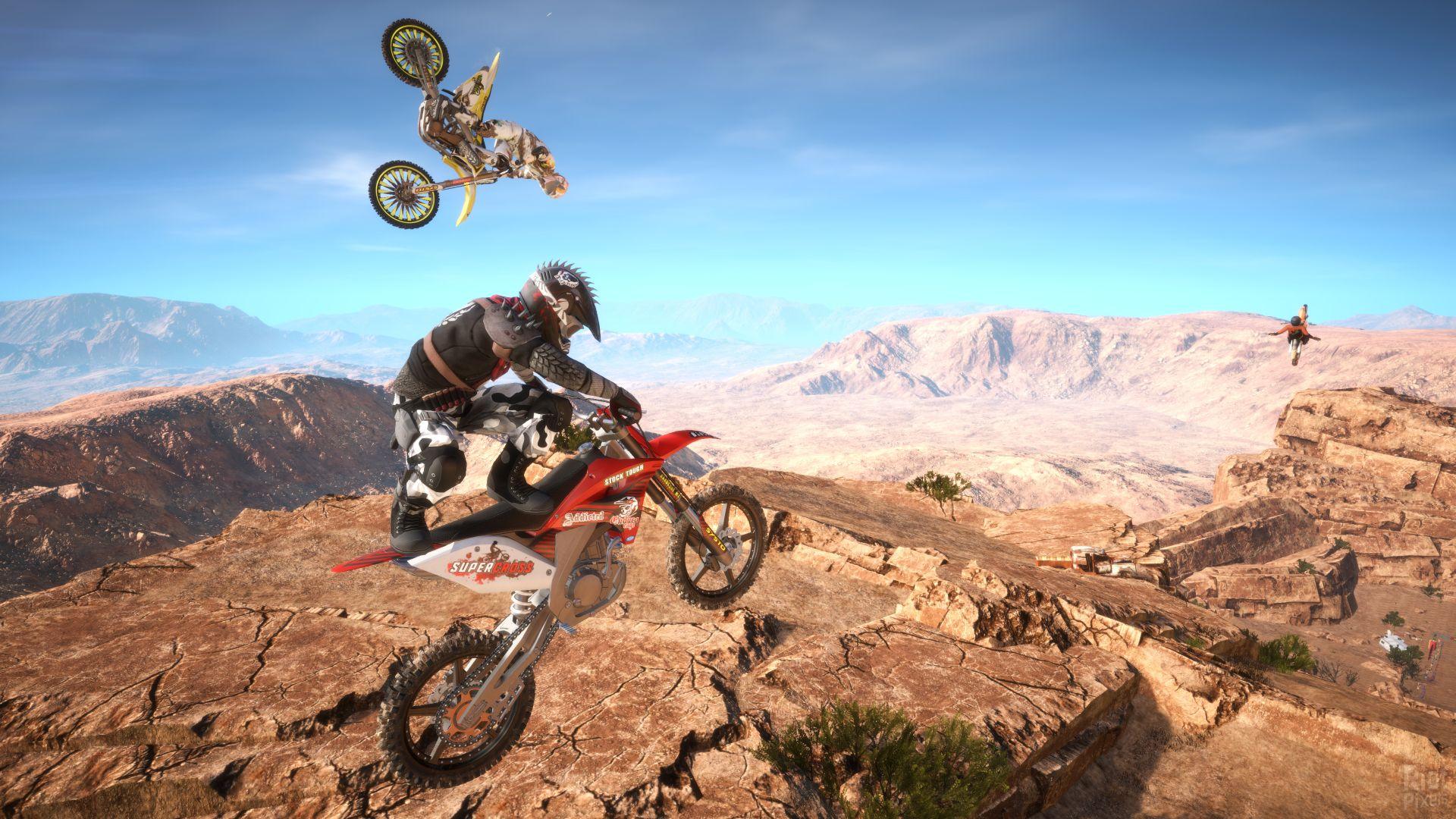 Wallpaper MX Nitro, Motocross, Extreme, PC, Xbox One, PS4