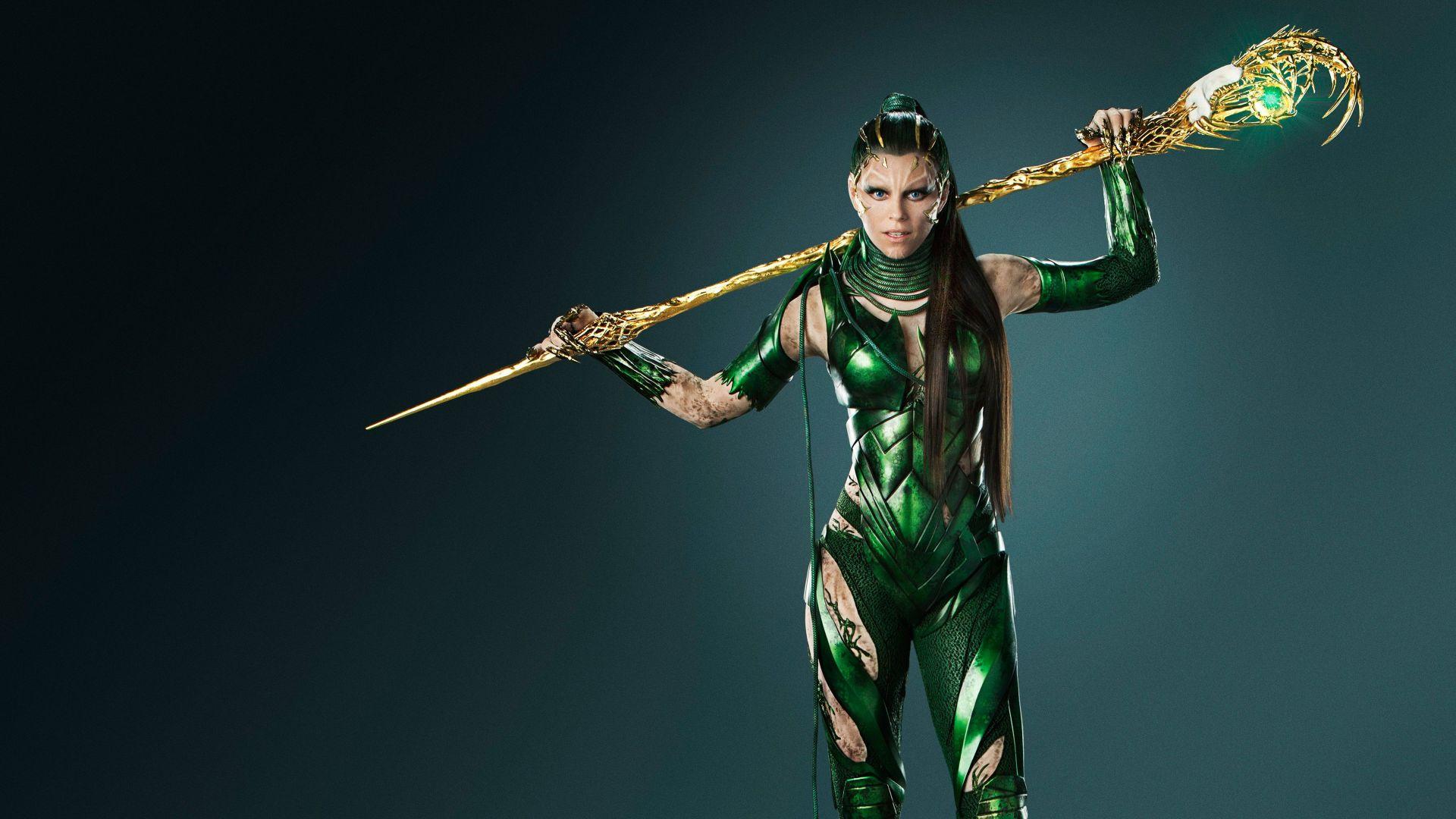 wallpaper power rangers, elizabeth banks, rita repulsa, superhero