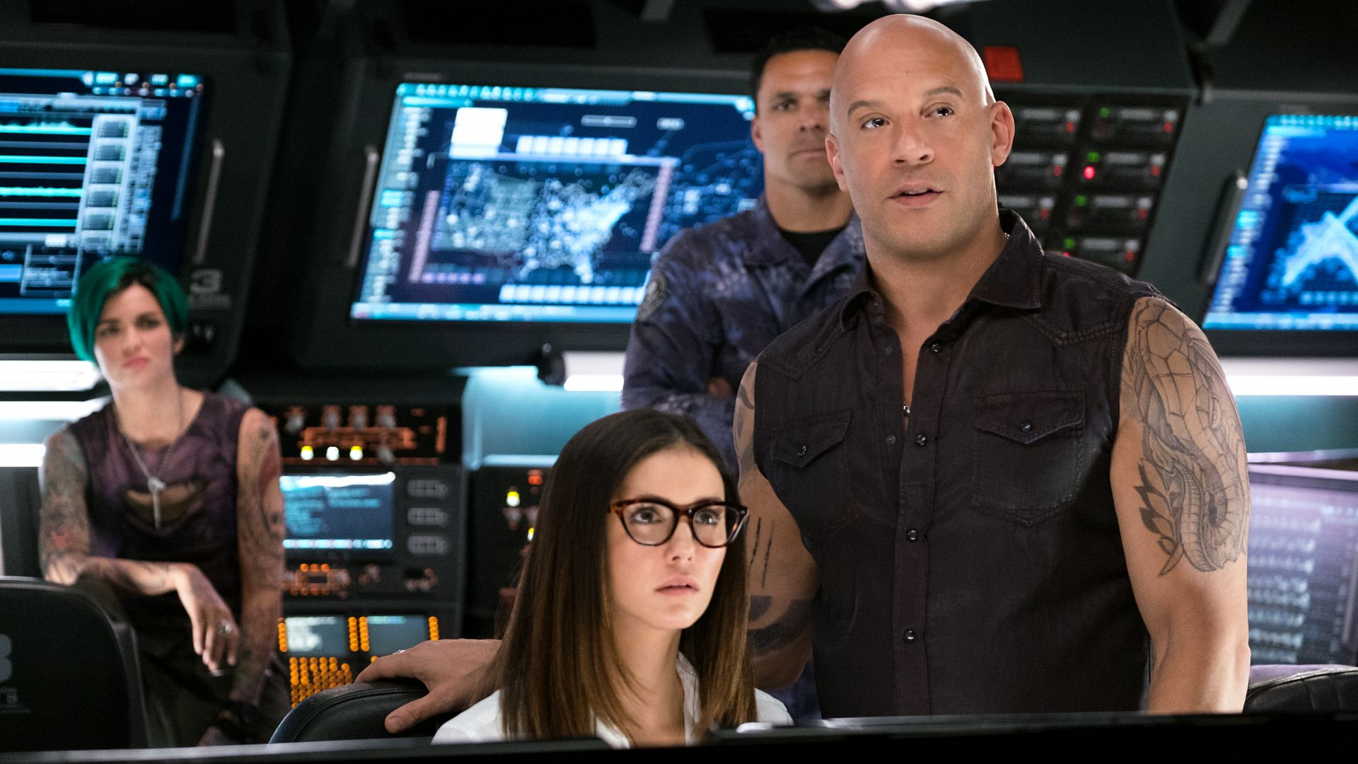 xXx: Return of Xander Cage, Vin Diesel, Nina Dobrev (horizontal)