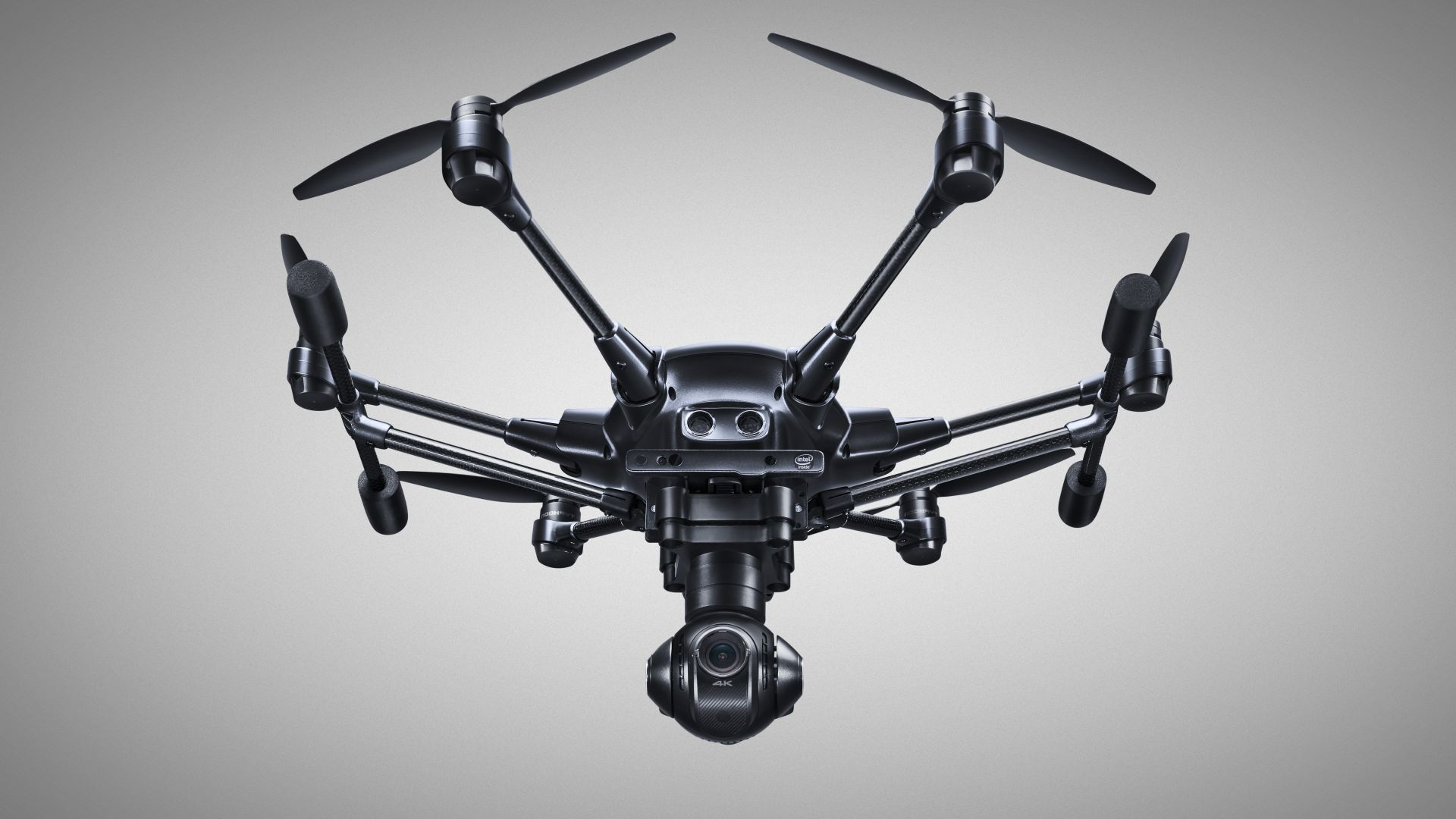 Yuneec Typhoon H Pro, hexacopter, review, best drones (horizontal)