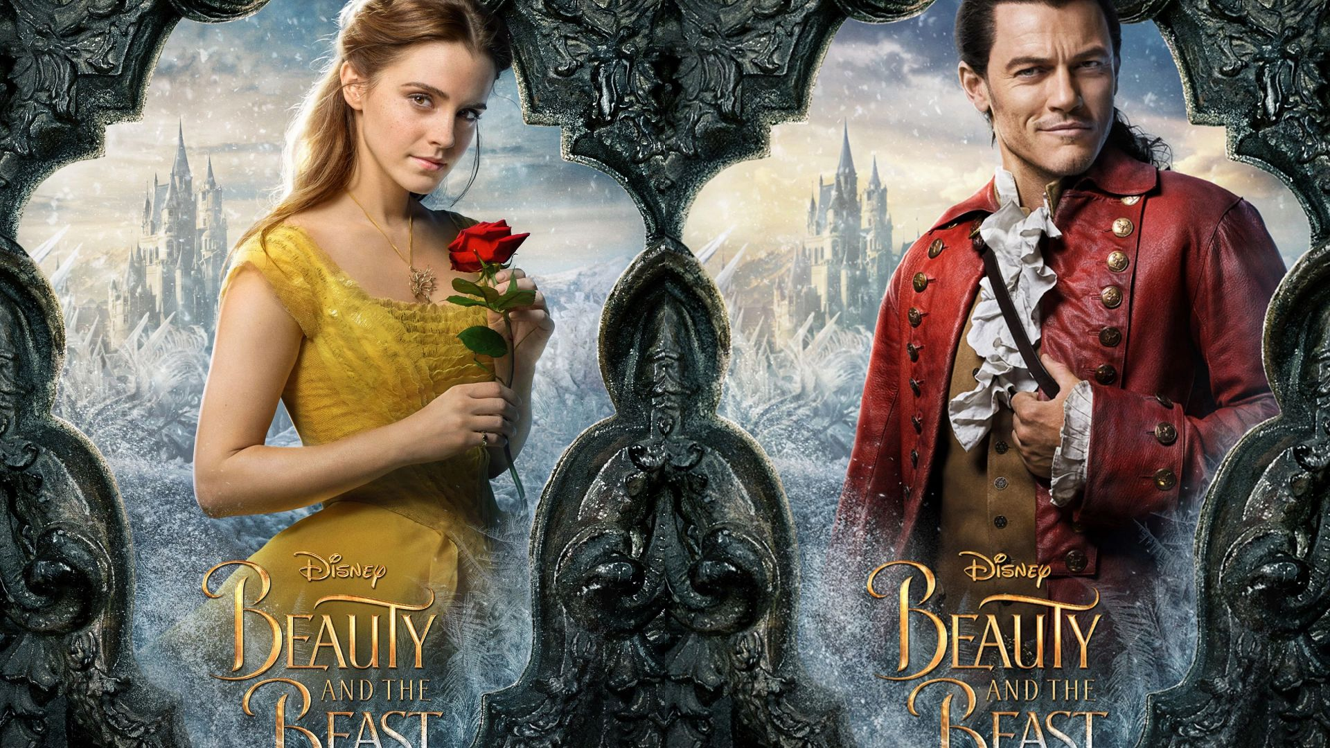 Wallpaper Beauty And The Beast Emma Watson Luke Evans Life