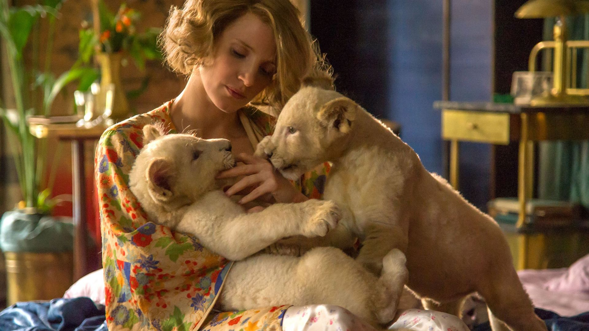 The Zookeeper's Wife, Jessica Chastain, lion, best movies (horizontal)