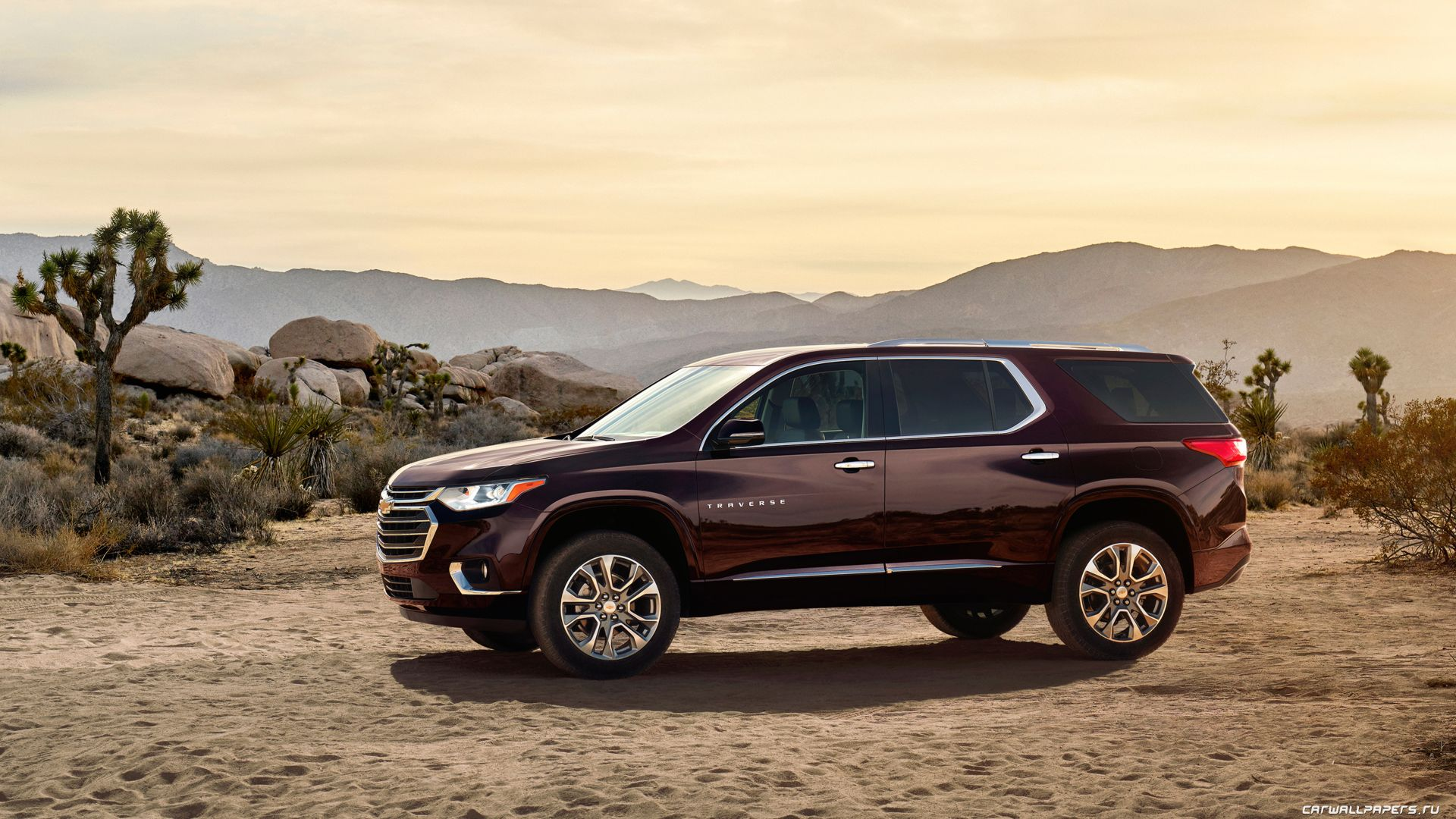 Chevrolet Traverse, crossover, NAIAS 2017, side (horizontal)
