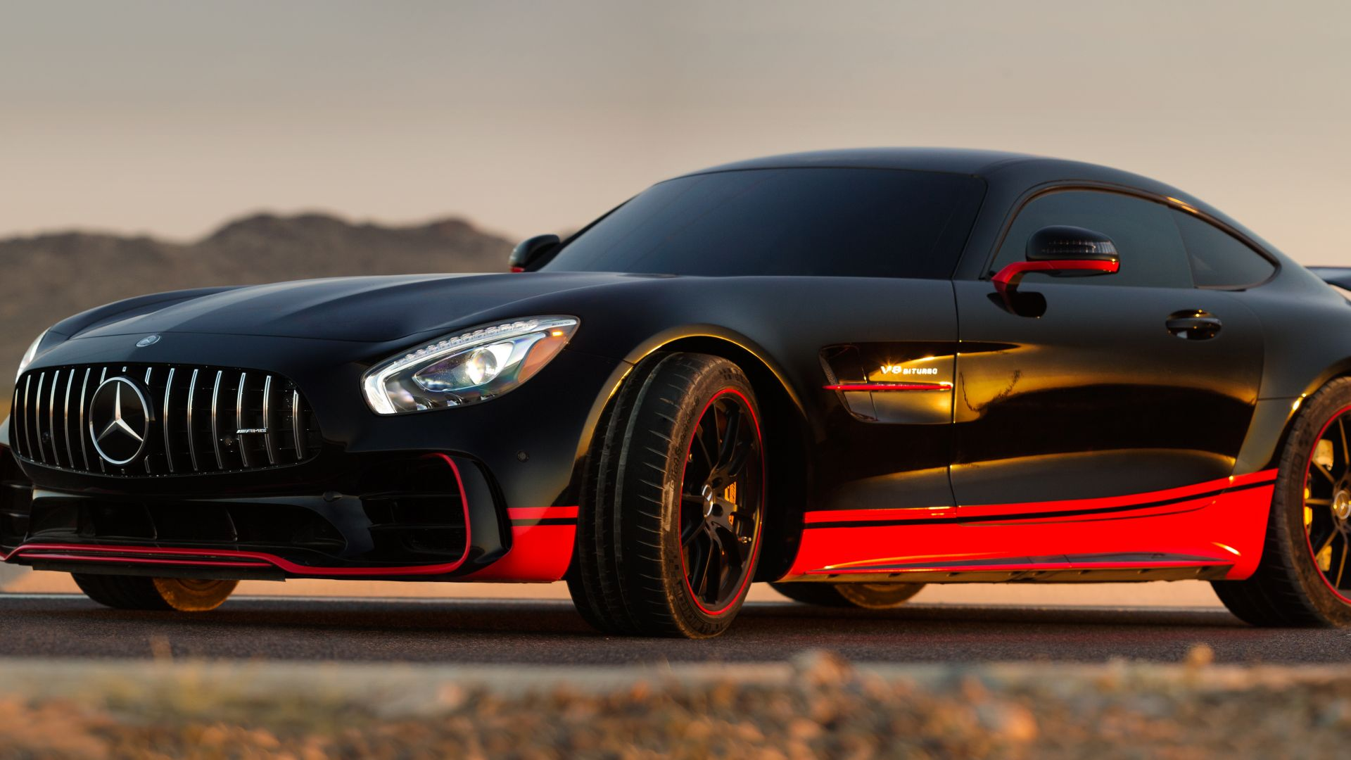 Mercedes Benz AMG GT R, Drift, Transformers: The Last Knight (horizontal)