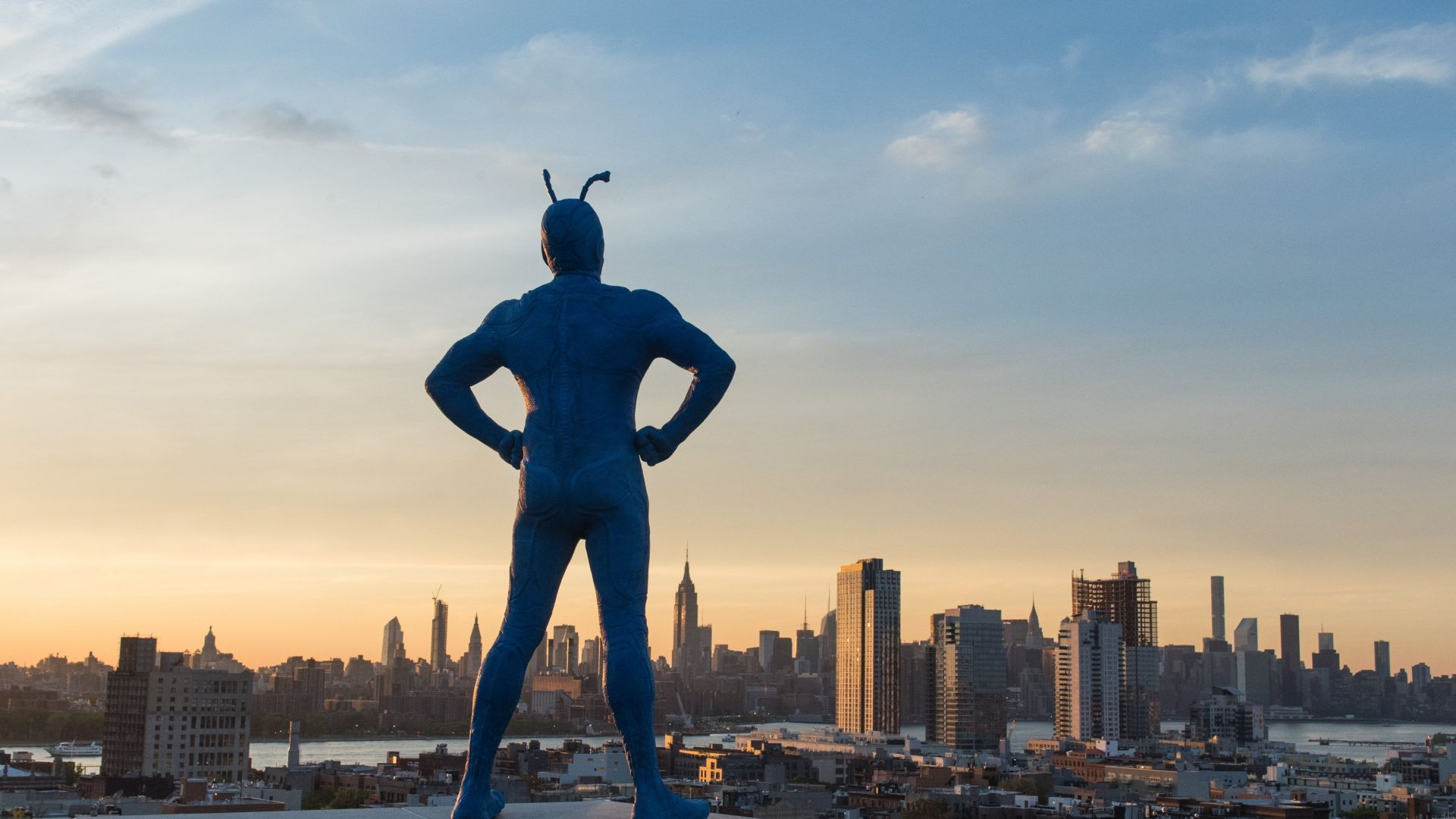The Tick, Peter Serafinowicz, best tv series (horizontal)