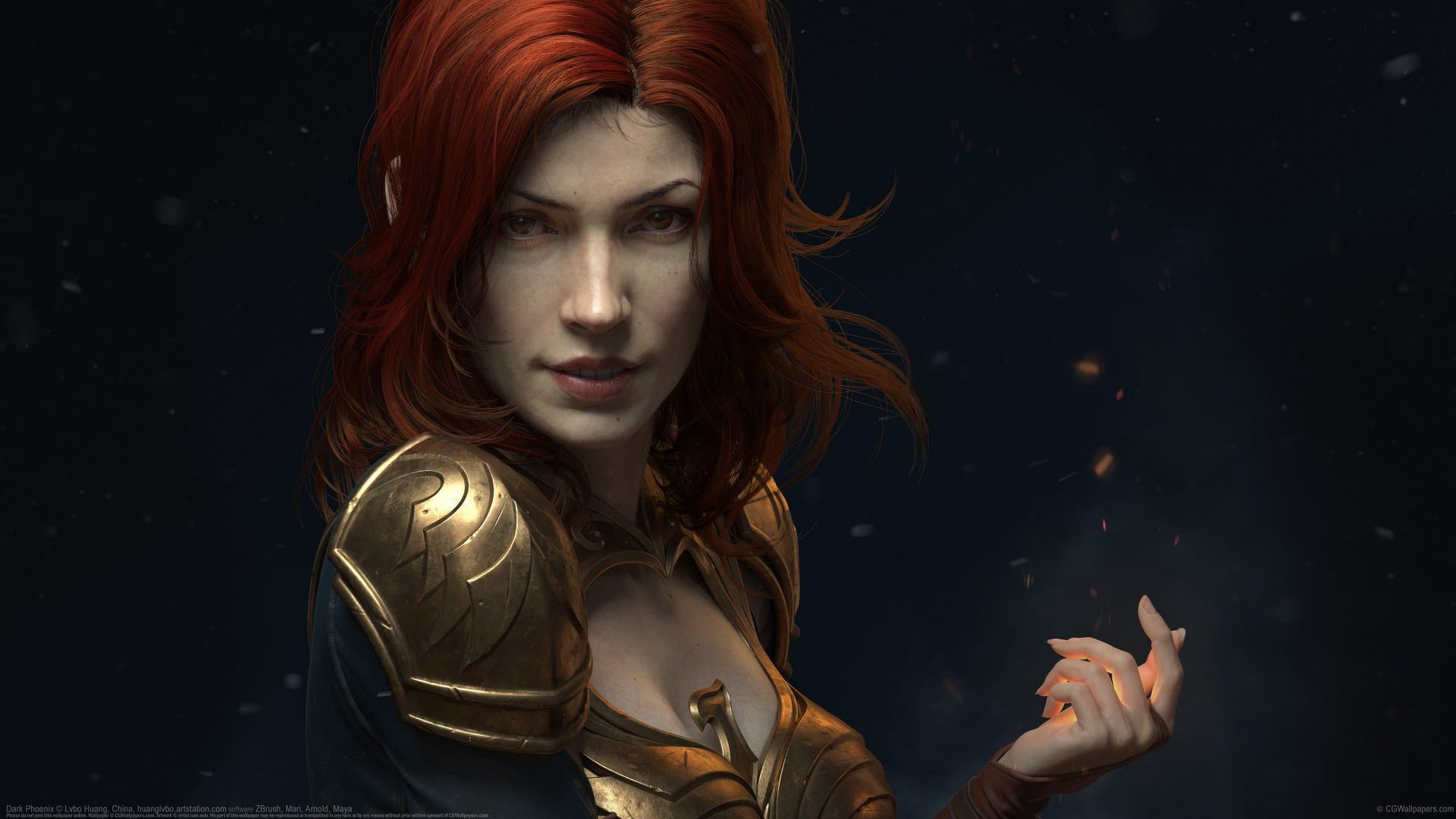 Dark Phoenix, Jean Grey, Marvel, superhero, 4k, 5k (horizontal)