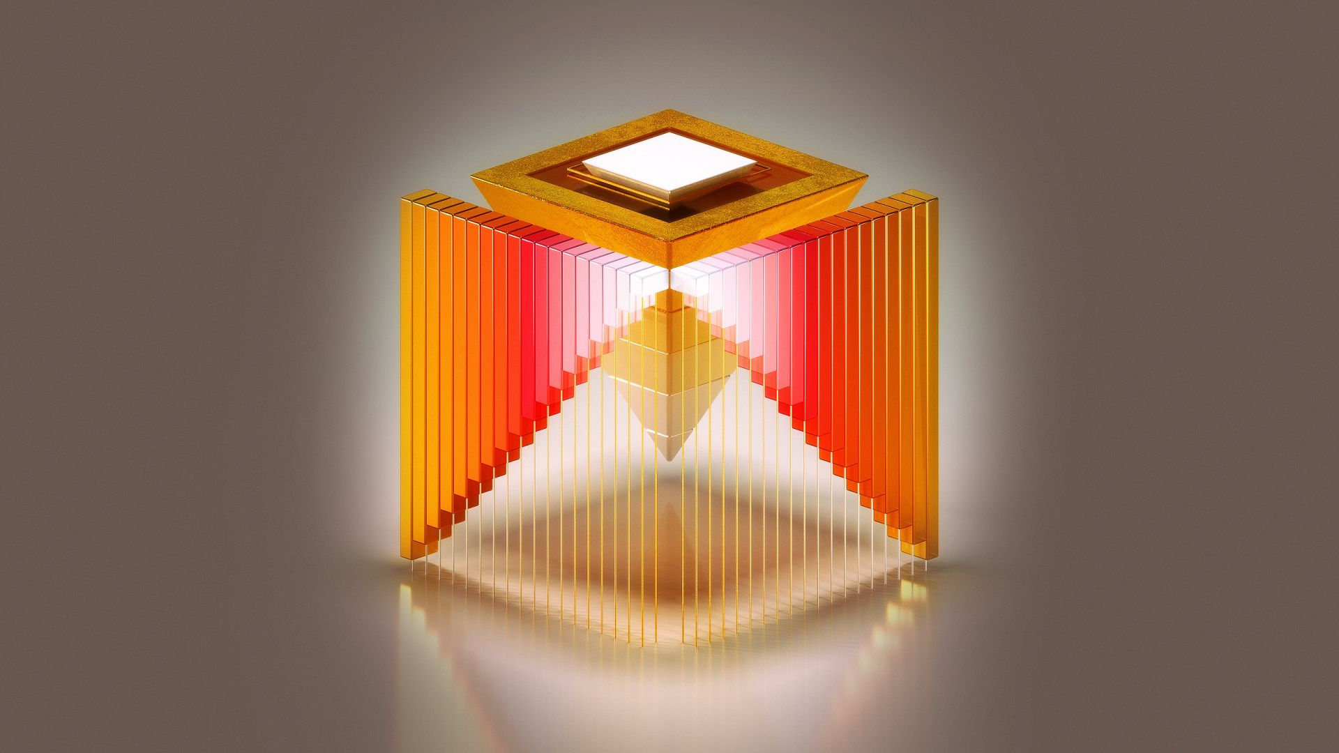 HD, abstract, 3D, Medaltations, cube (horizontal)