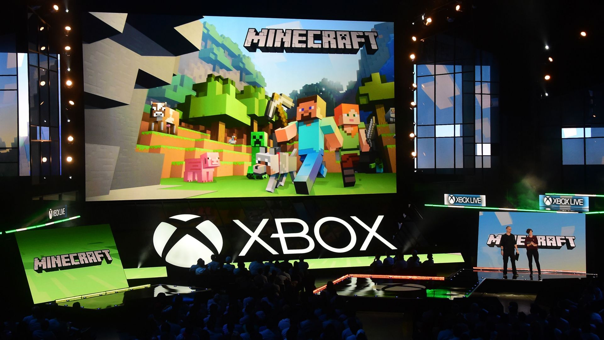 Xbox One X 4k Magic: Wallpaper Minecraft, 4k, E3 2017, Xbox One X, Games #13772