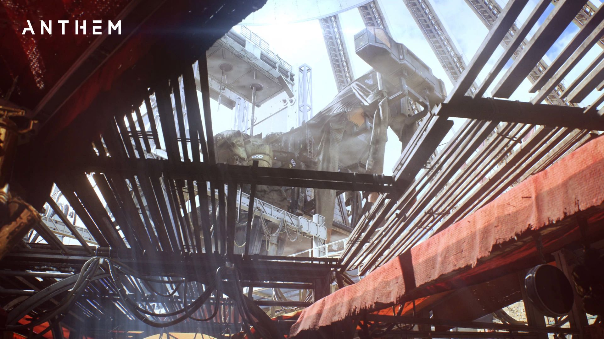 Anthem, 4k, screenshot, gameplay (horizontal)