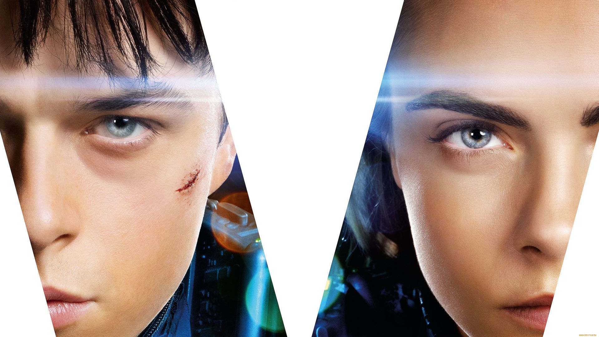 Valerian and the City of a Thousand Planets, 4k, Cara Delevingne, Dane DeHaan (horizontal)