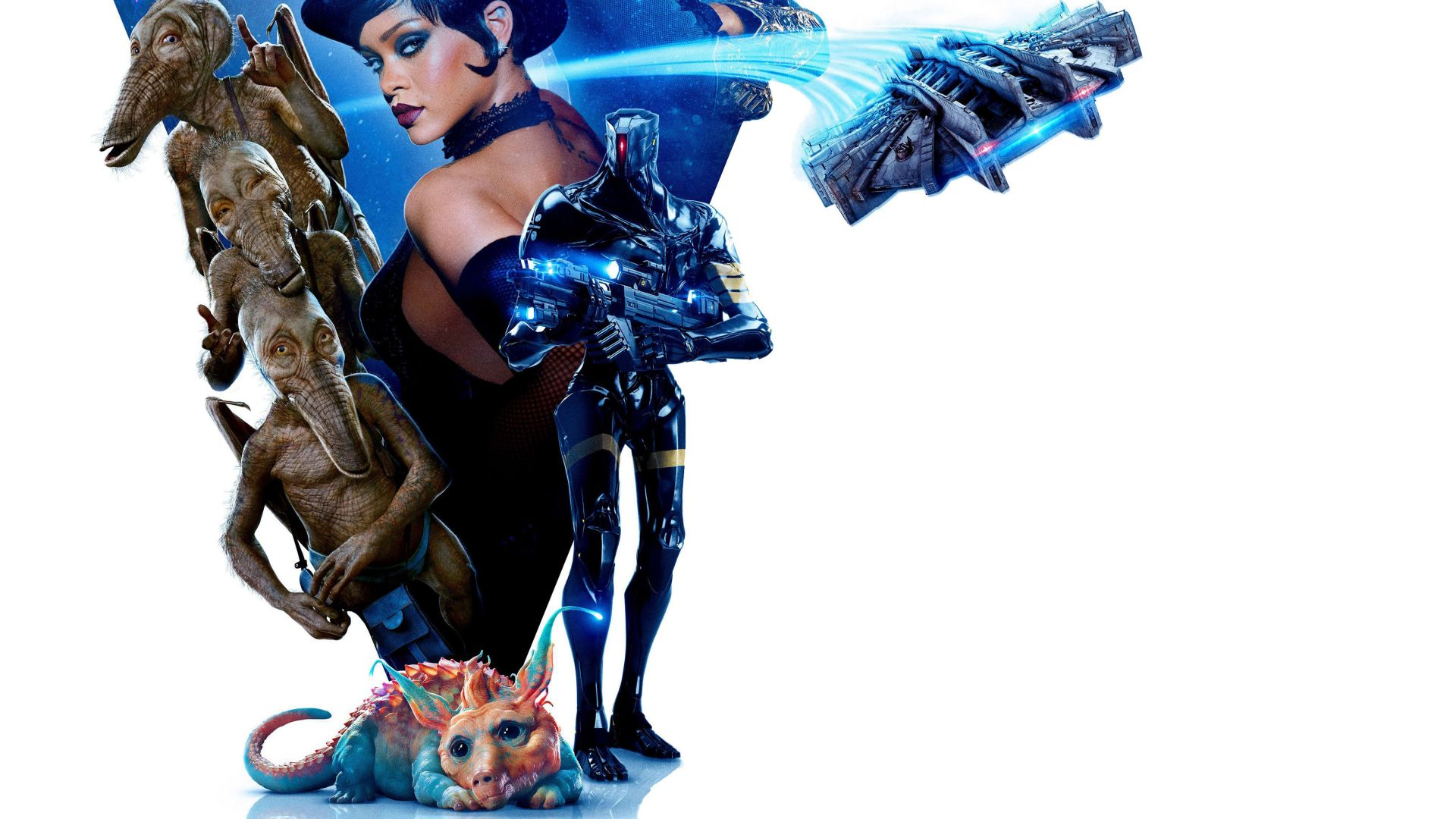 Valerian and the City of a Thousand Planets, Rihanna, 4k (horizontal)