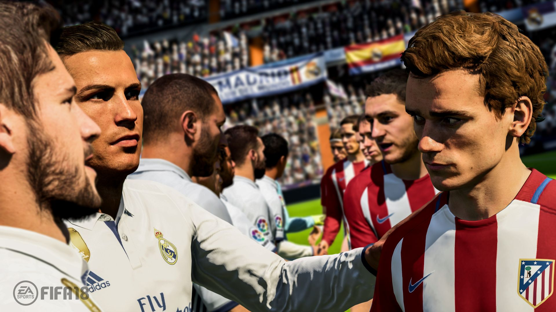 FIFA 18, 5k, screenshot, E3 2017 (horizontal)