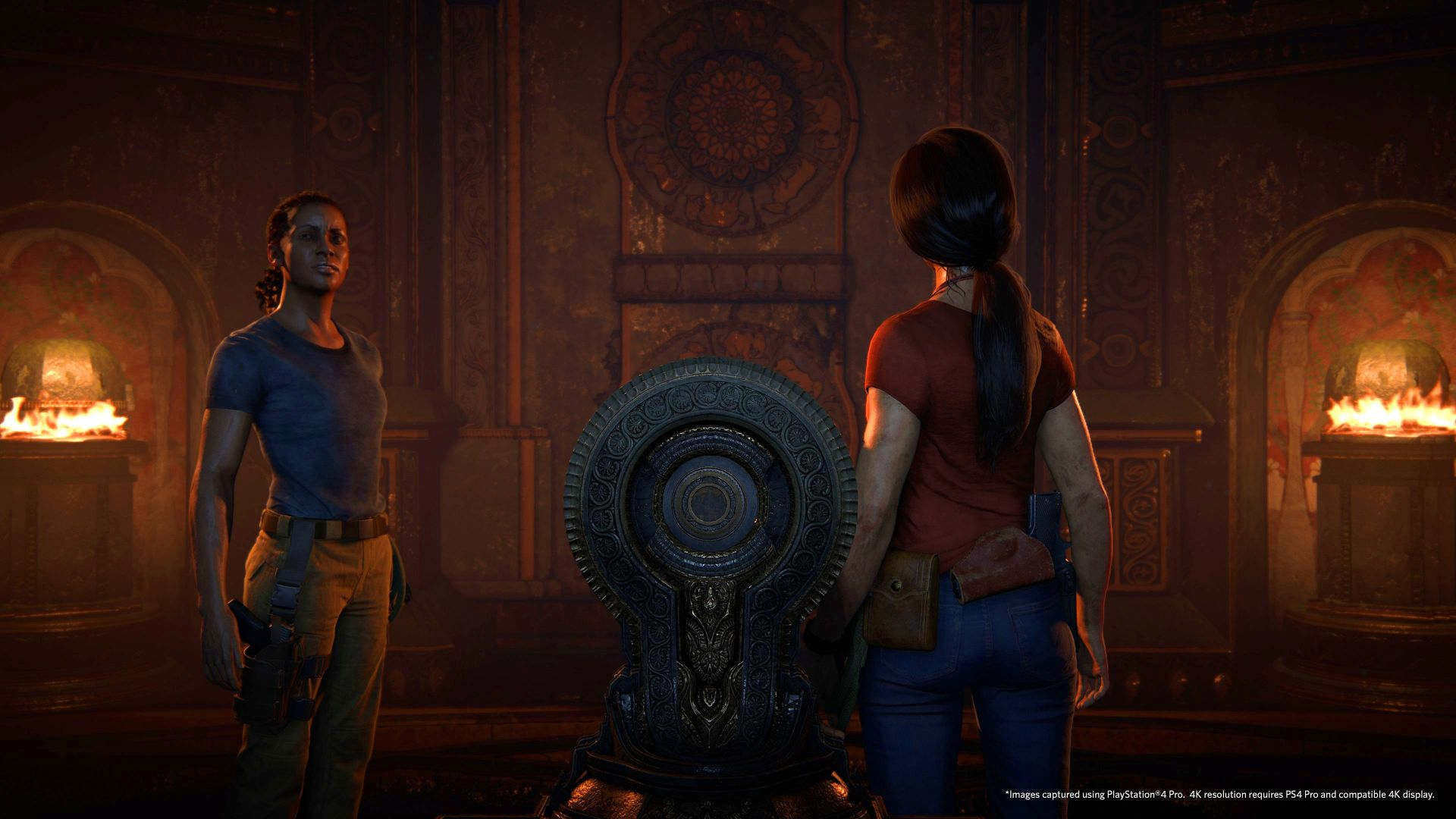 Uncharted: The Lost Legacy, 4k, PS4 Pro, screenshot, E3 2017 (horizontal)
