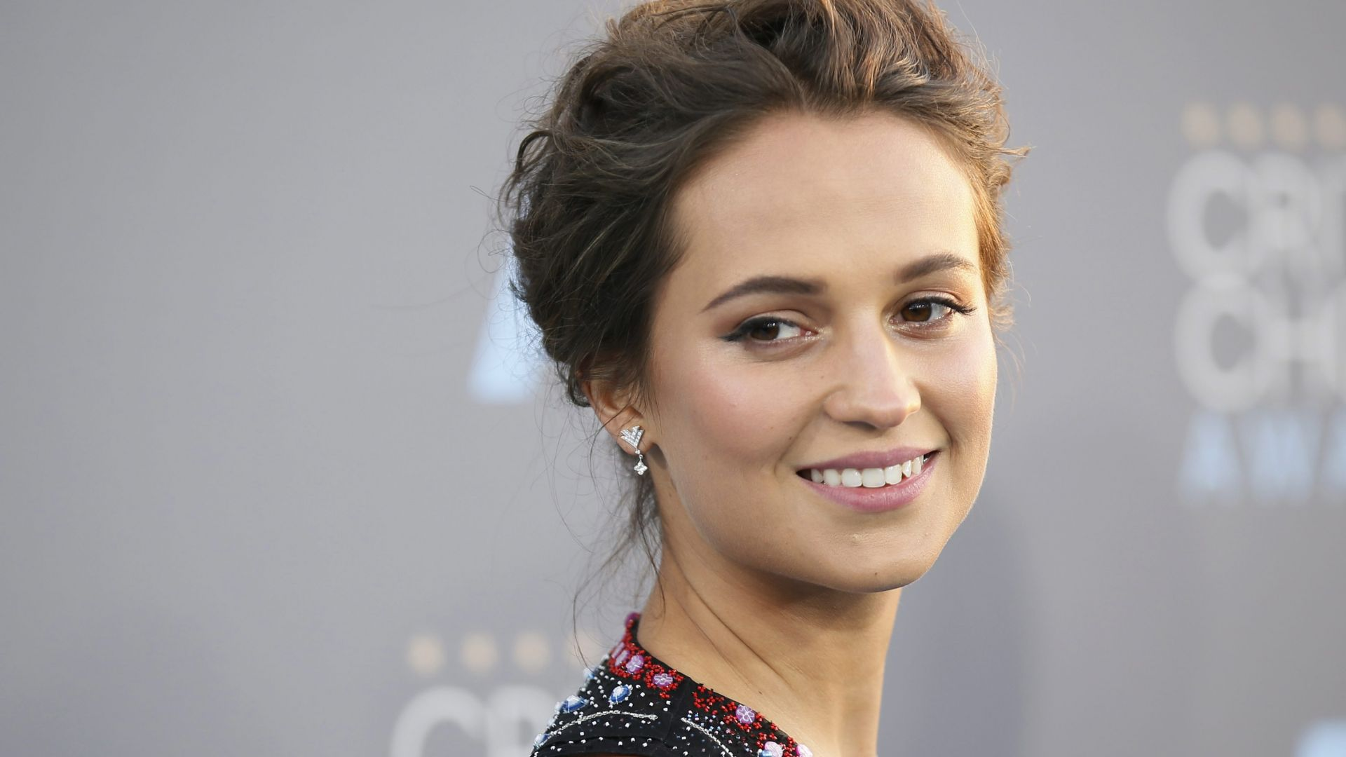 Alicia Vikander, 4k, photo (horizontal)