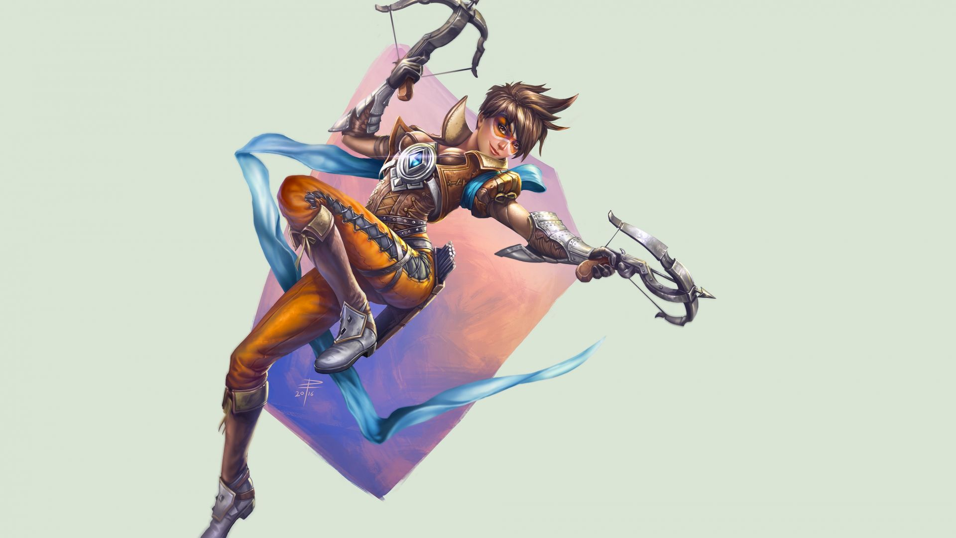 Tracer, 4K, Overwatch (horizontal)