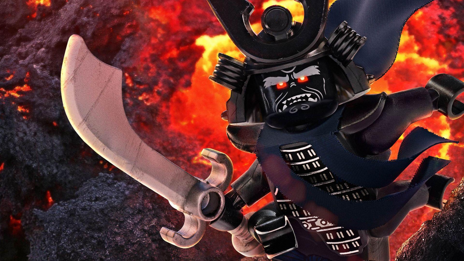 Wallpaper The LEGO Ninjago Movie Garmadon 4k Movies 14482