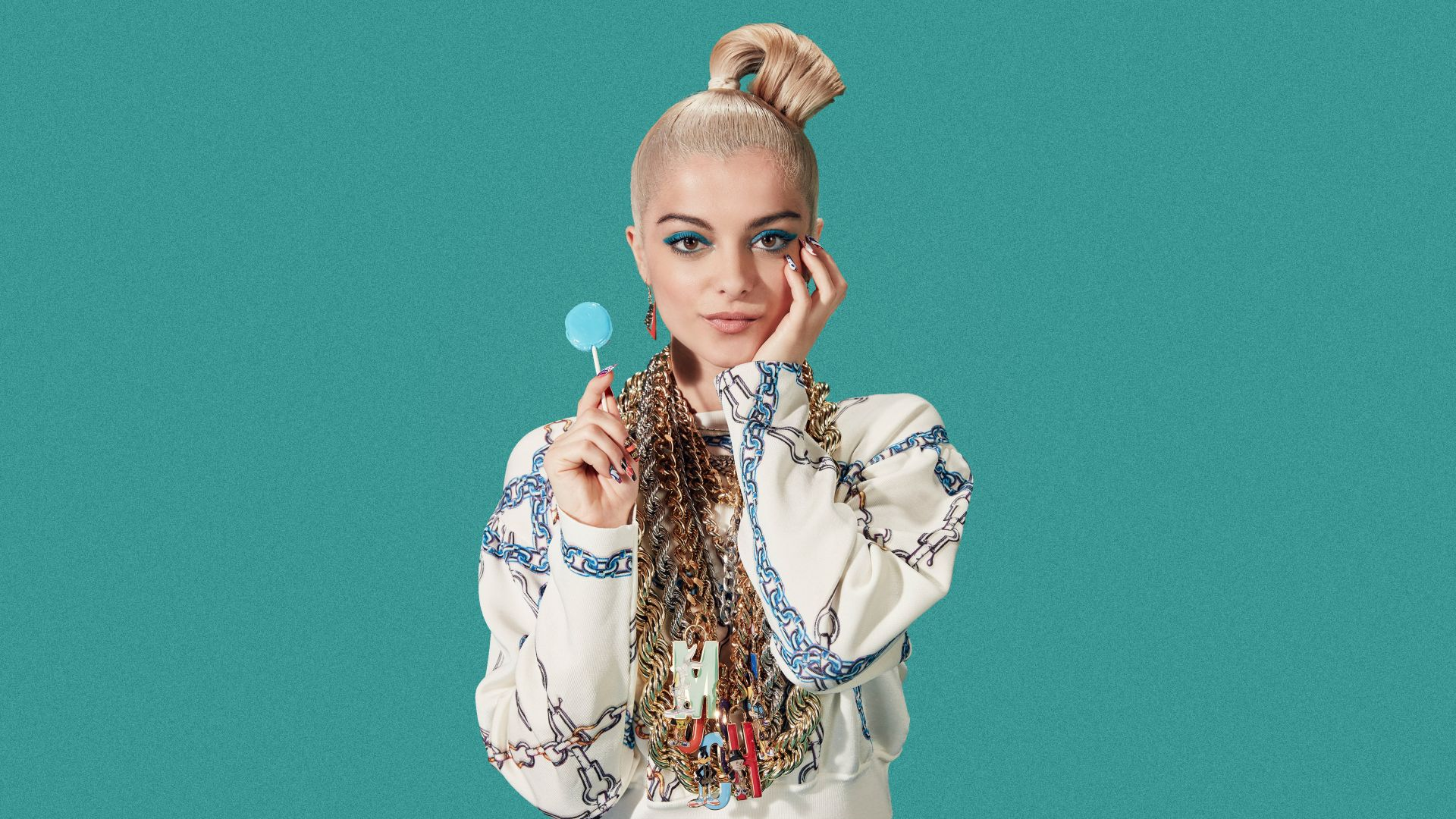 Bebe Rexha, photo, 5k (horizontal)