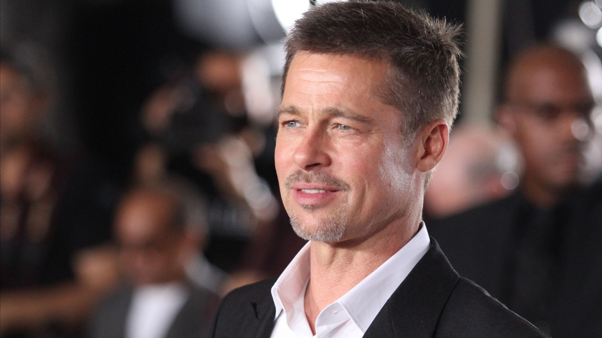 Brad Pitt, photo, 4k (horizontal)