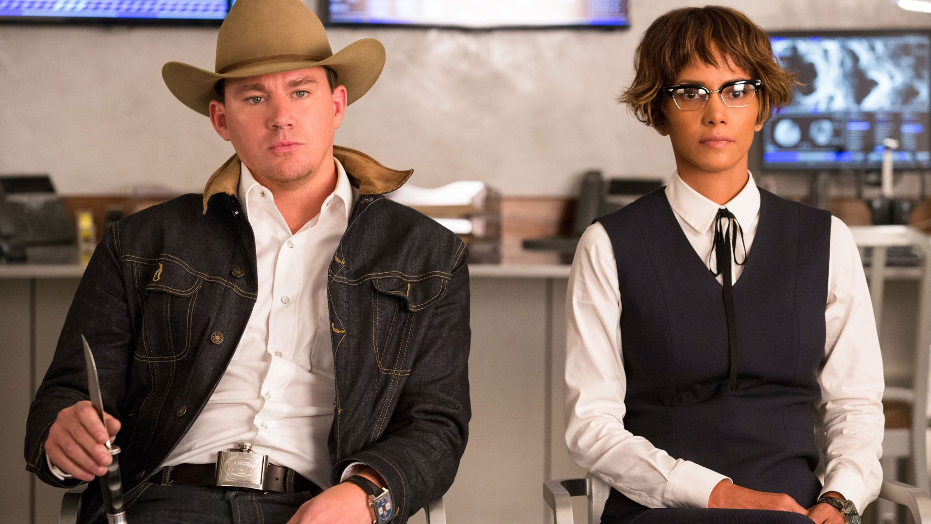 Kingsman: The Golden Circle, Channing Tatum, Halle Berry, 4k (horizontal)