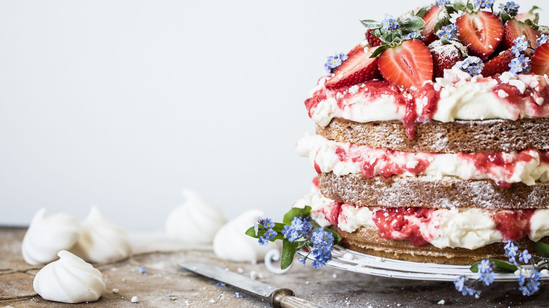 birthday cake, receipt, strawberry, 5k (horizontal)