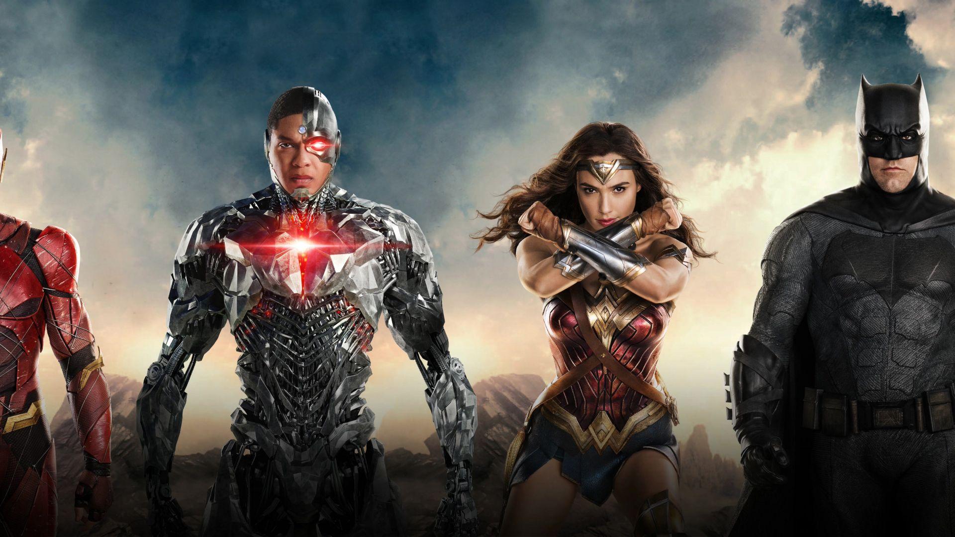 Wonder Woman Justice League 4k Fan Art Hd Movies 4k: Wallpaper Justice League, Wonder Woman, Batman, The Flash