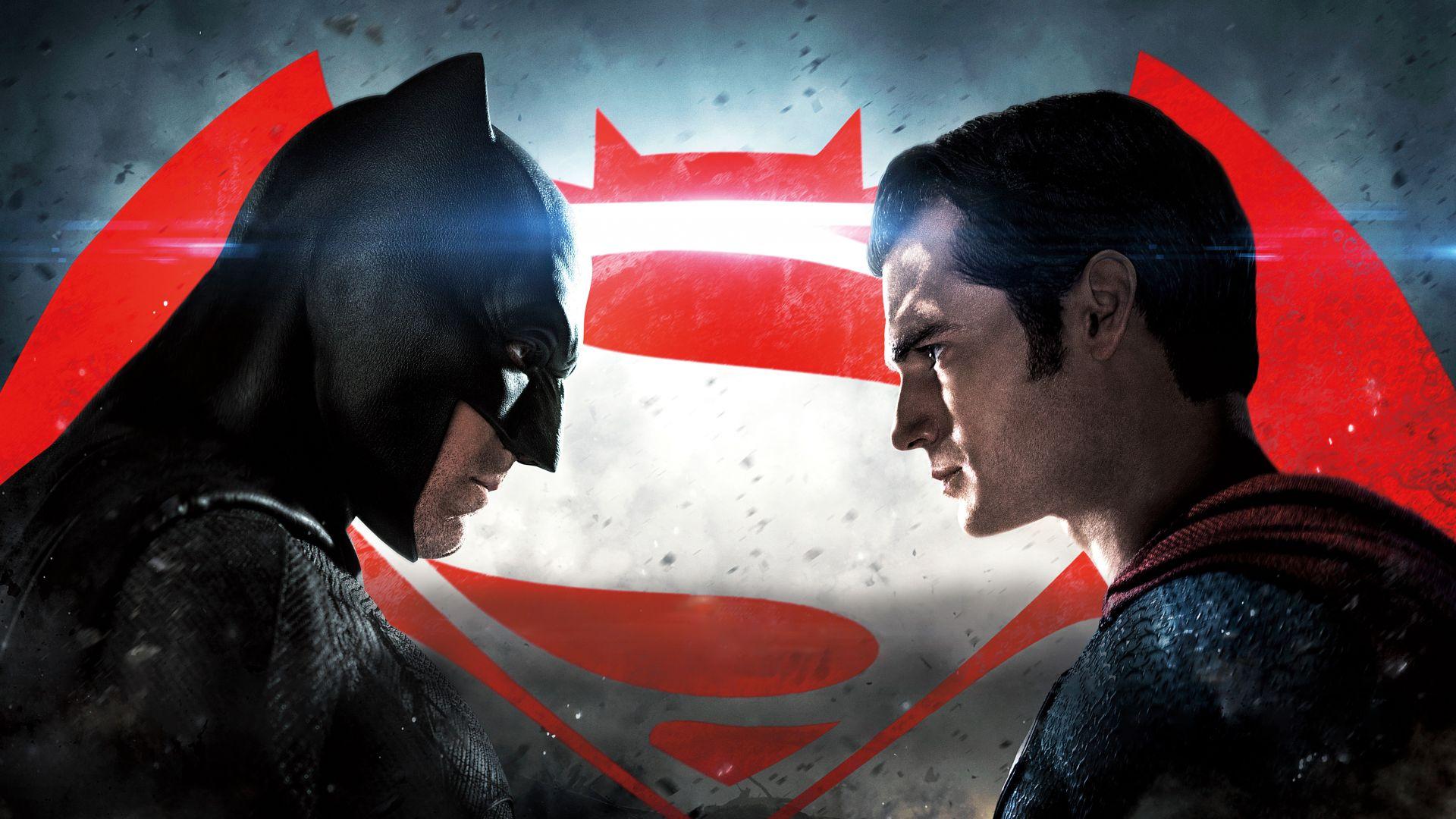 Justice League Batman Superman 8k Horizontal
