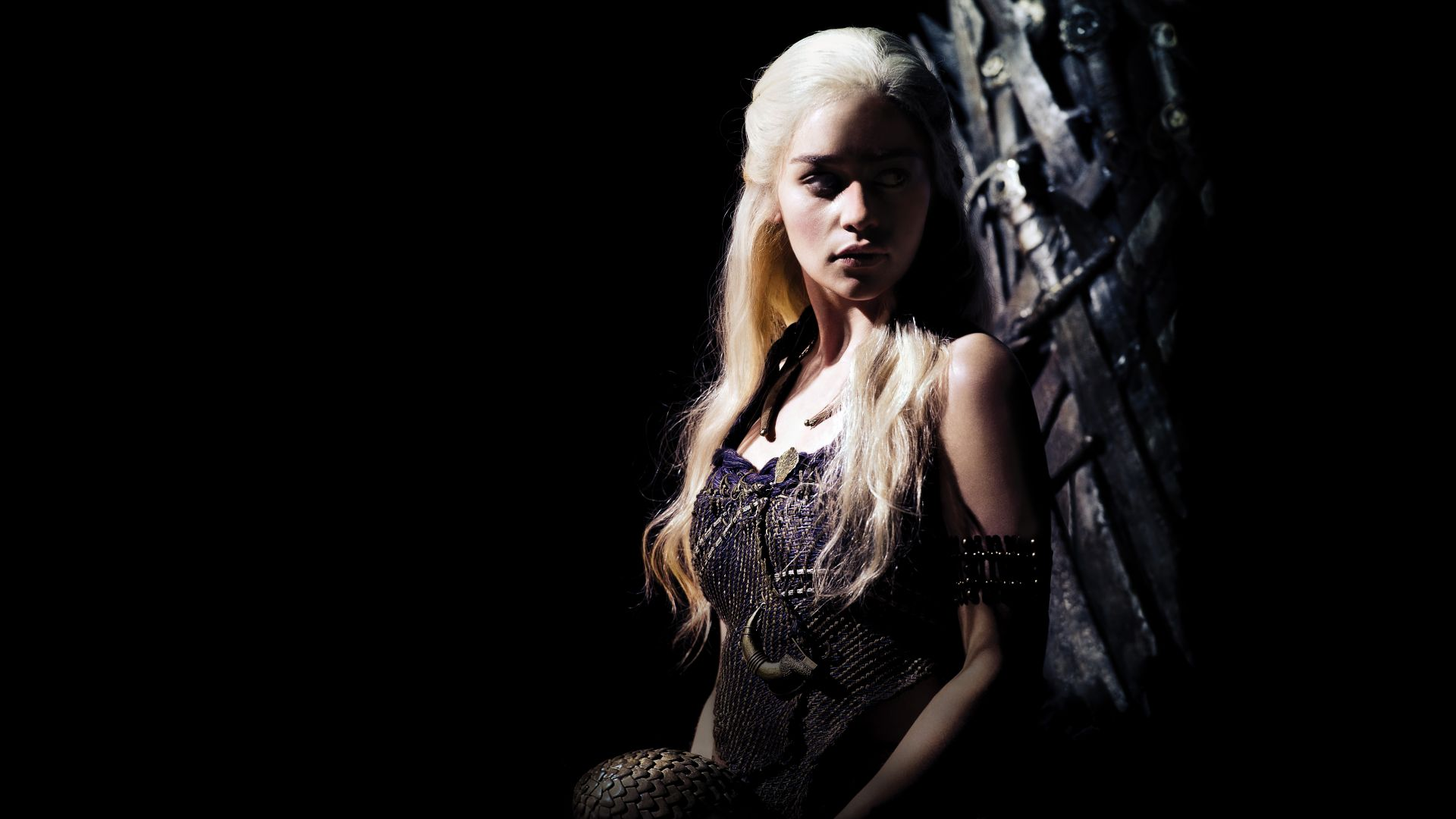 Game of Thrones, Daenerys Targaryen, Emilia Clarke, TV Series, 8k (horizontal)