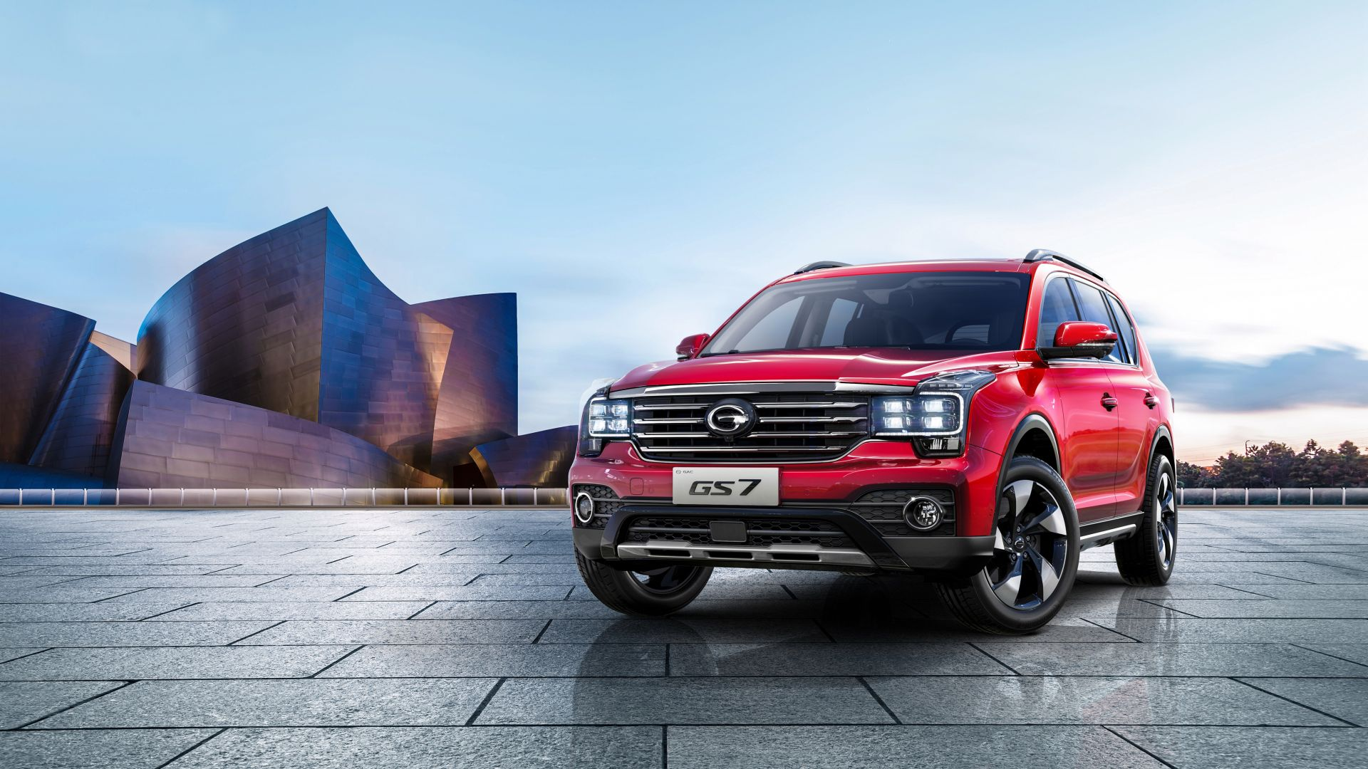 Trumpchi GS7, 2018 cars, 4k (horizontal)