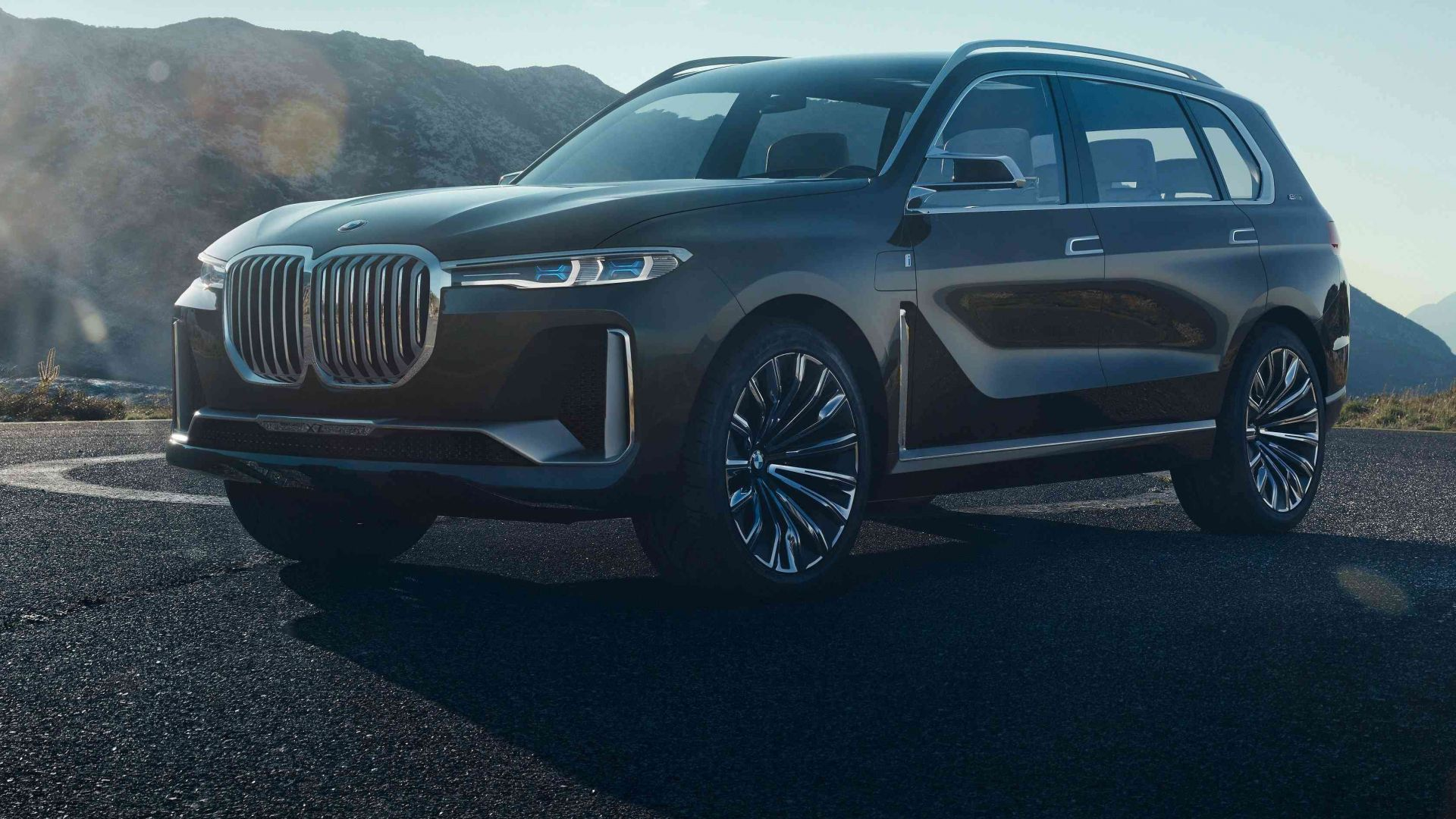 BMW X7, 2018 Cars, 4k (horizontal)