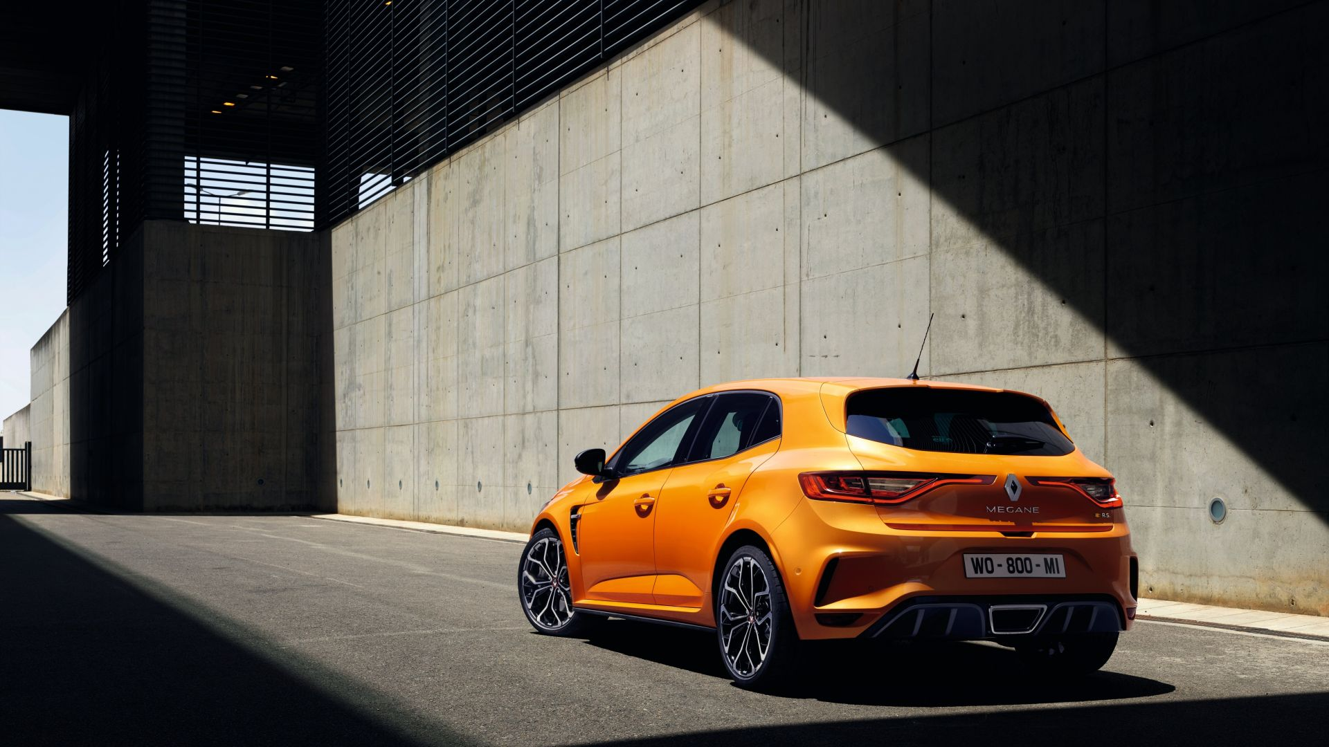 Renault Megane RS, 2018 Cars, 5k (horizontal)