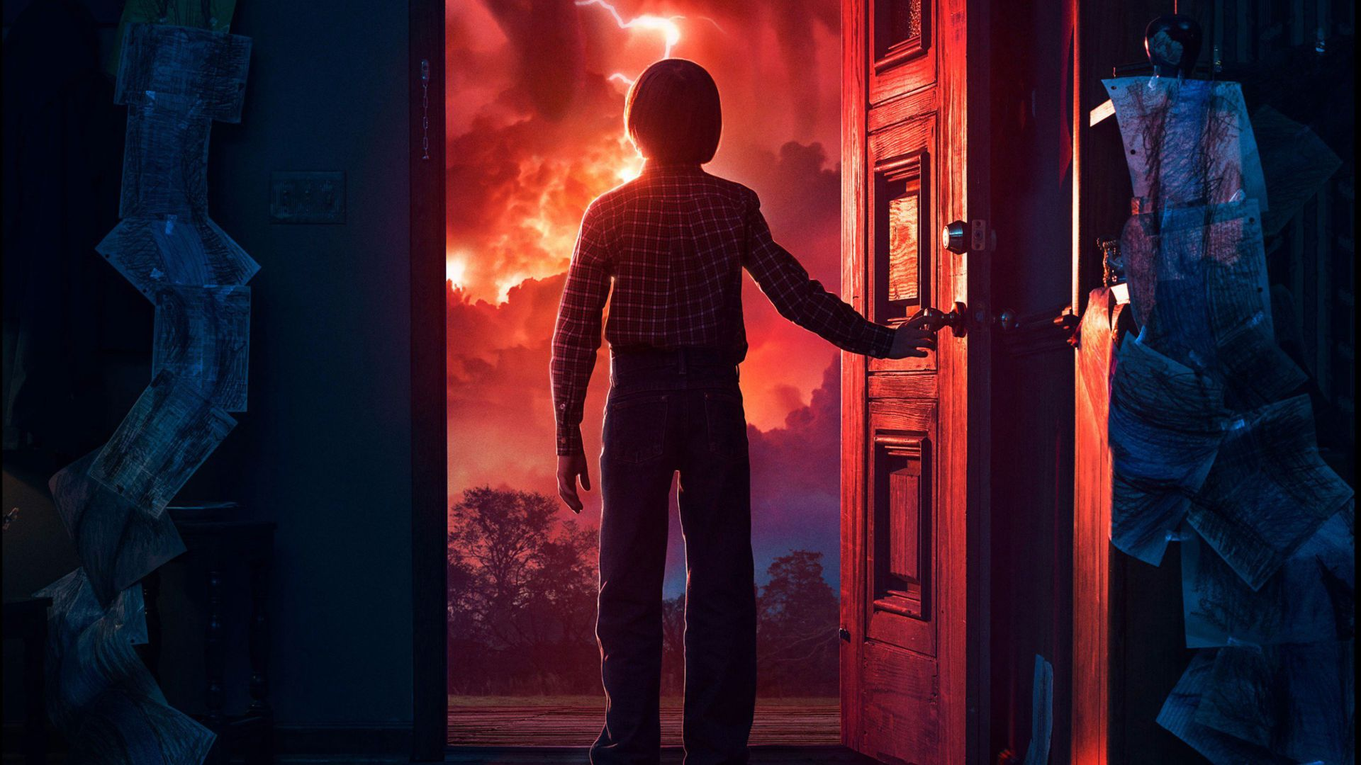 Stranger Things, season 2, TV Series, Noah Schnapp, 4k (horizontal)