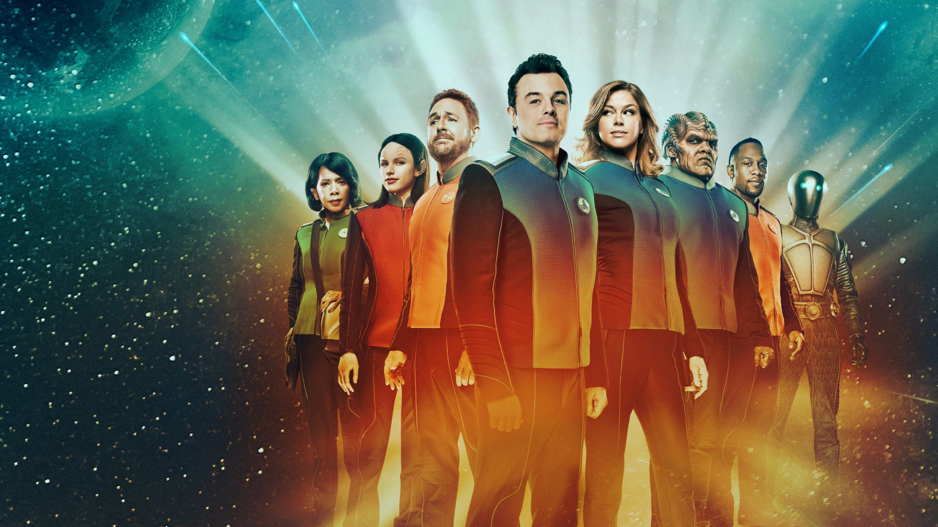 The Orville Season 1, Seth MacFarlane, Adrianne Palicki, Scott Grimes, TV Series, 5k (horizontal)
