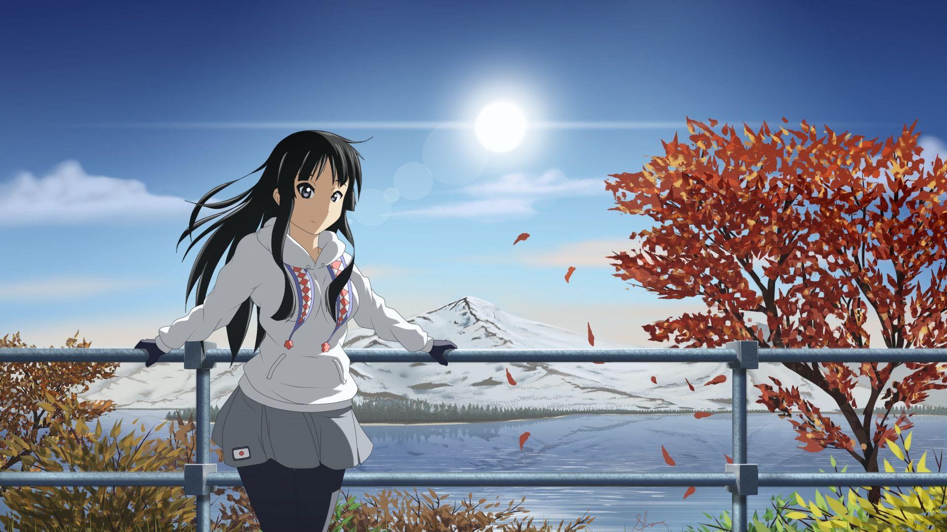 wallpaper anime mio akiyama girl beauty 8k art 15961