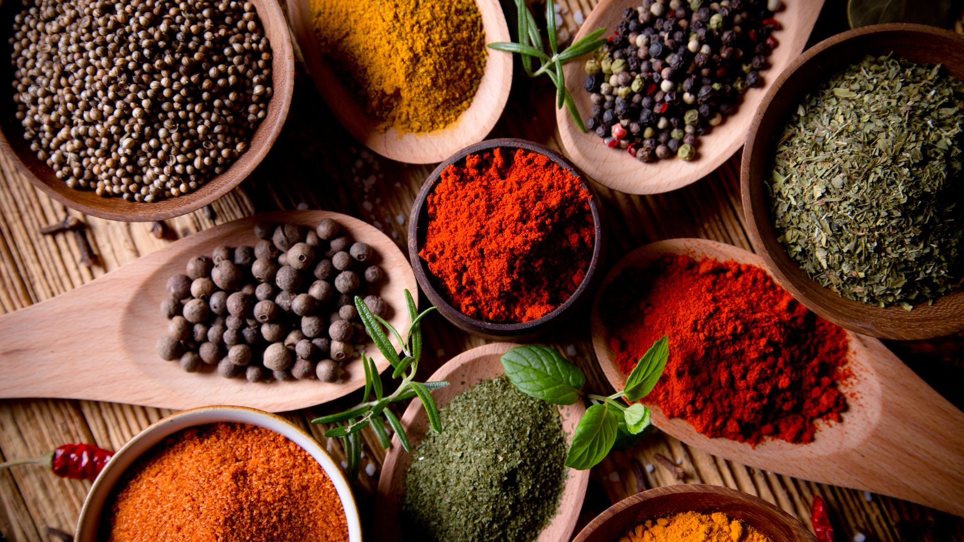 spices, pepper, 4k (horizontal)