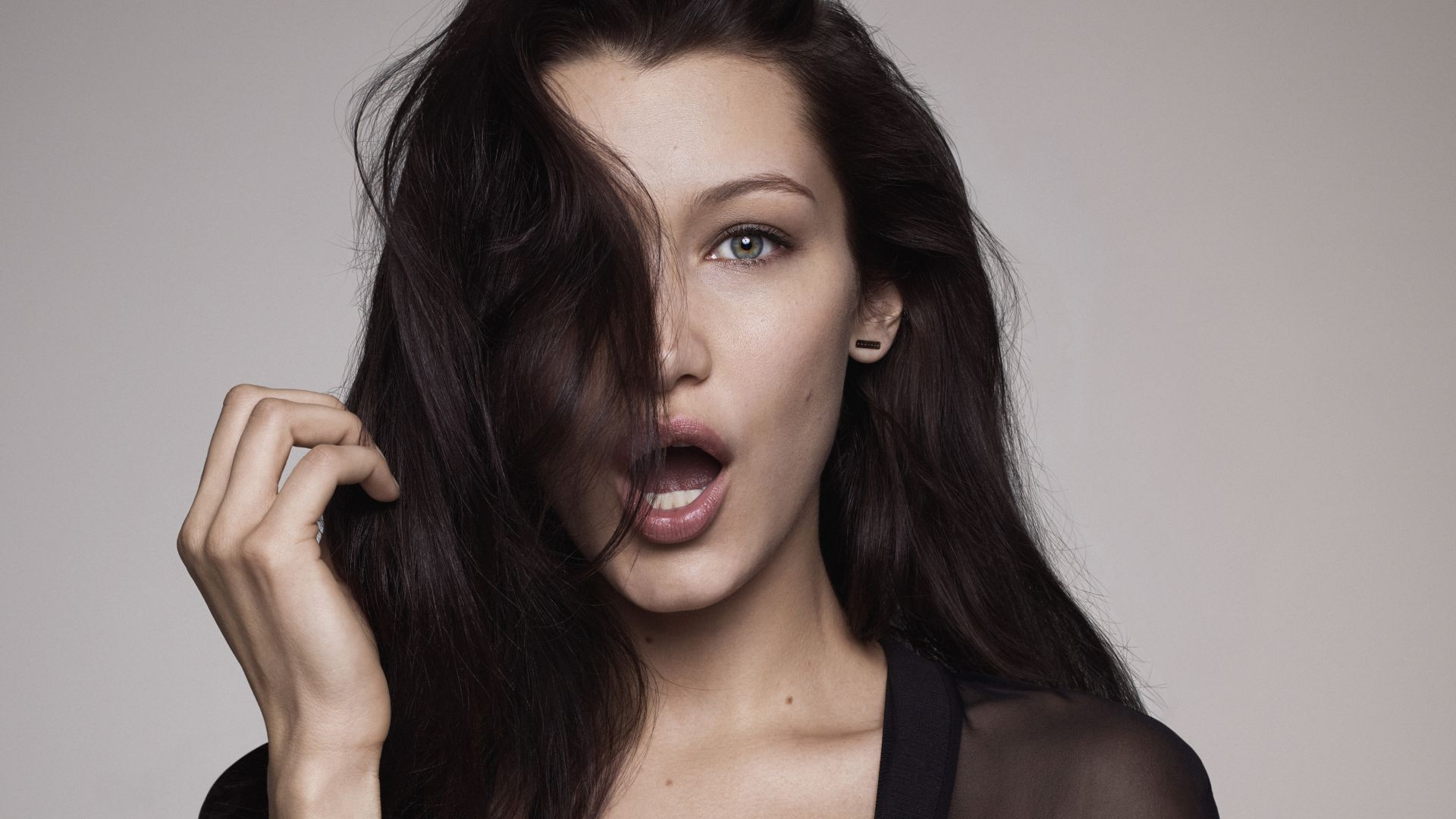 Bella Hadid, beauty, 4k (horizontal)