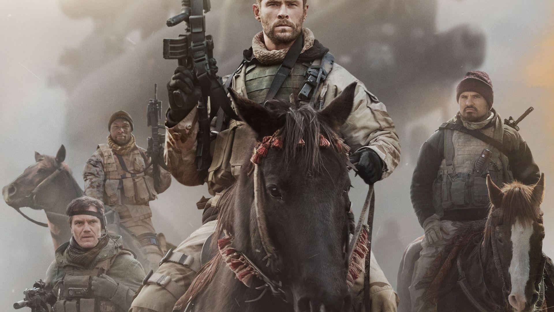 Wallpaper 12 Strong, Chris Hemsworth, 4k, Movies #16293 - 웹