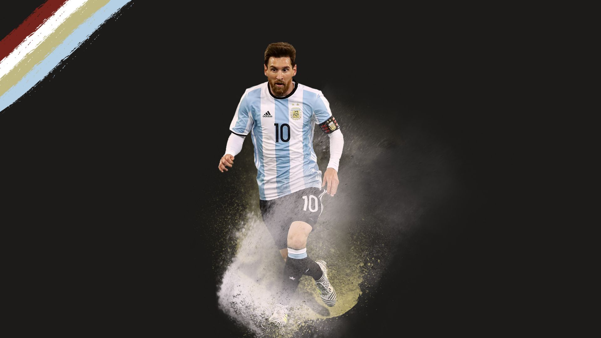 Lionel Messi, soccer, football, 4k (horizontal)