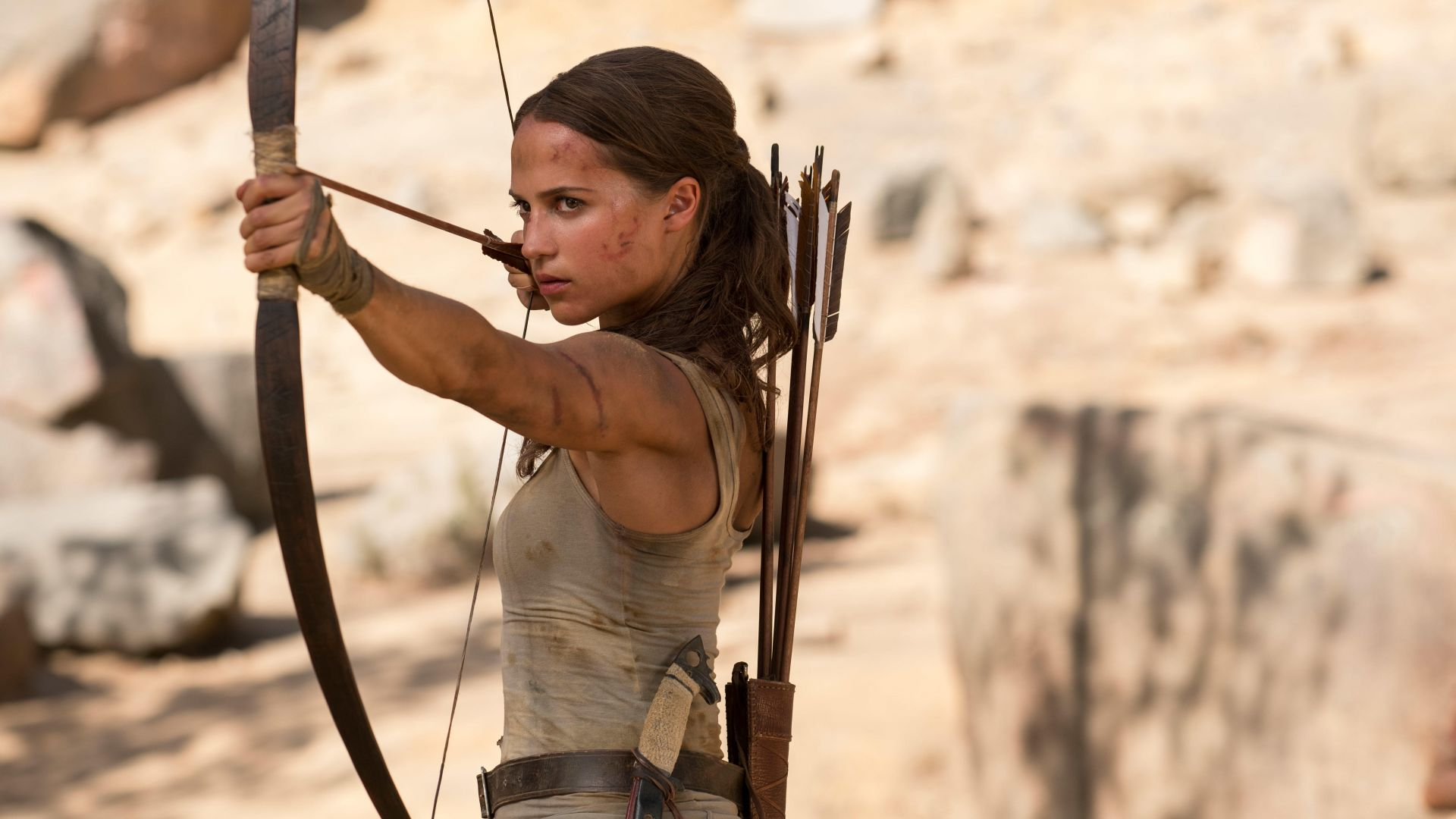 Lara Croft, Tomb Raider, Alicia Vikander, 5k (horizontal)