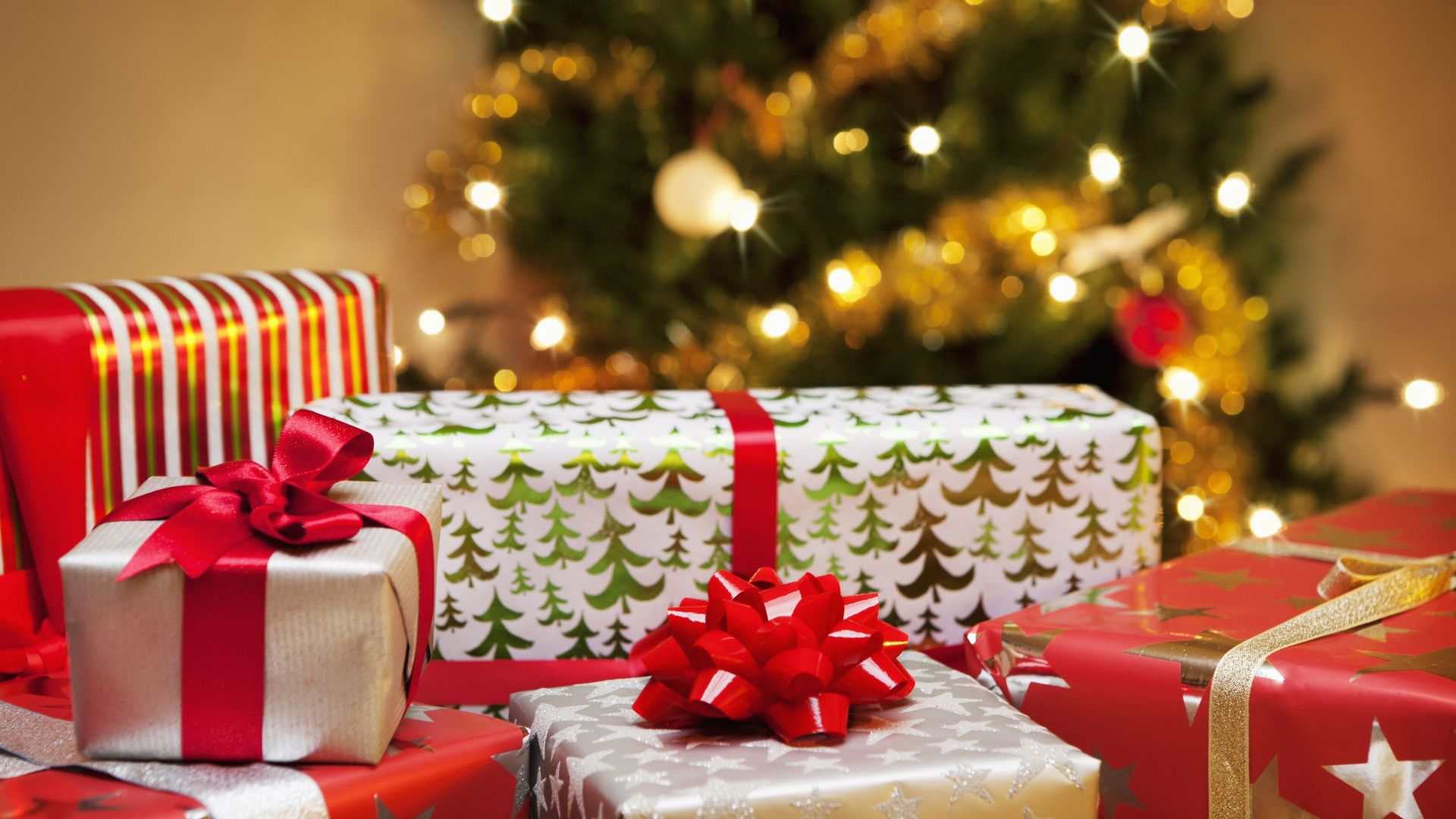 Wallpaper Christmas New Year Gifts 4k Holidays 16687