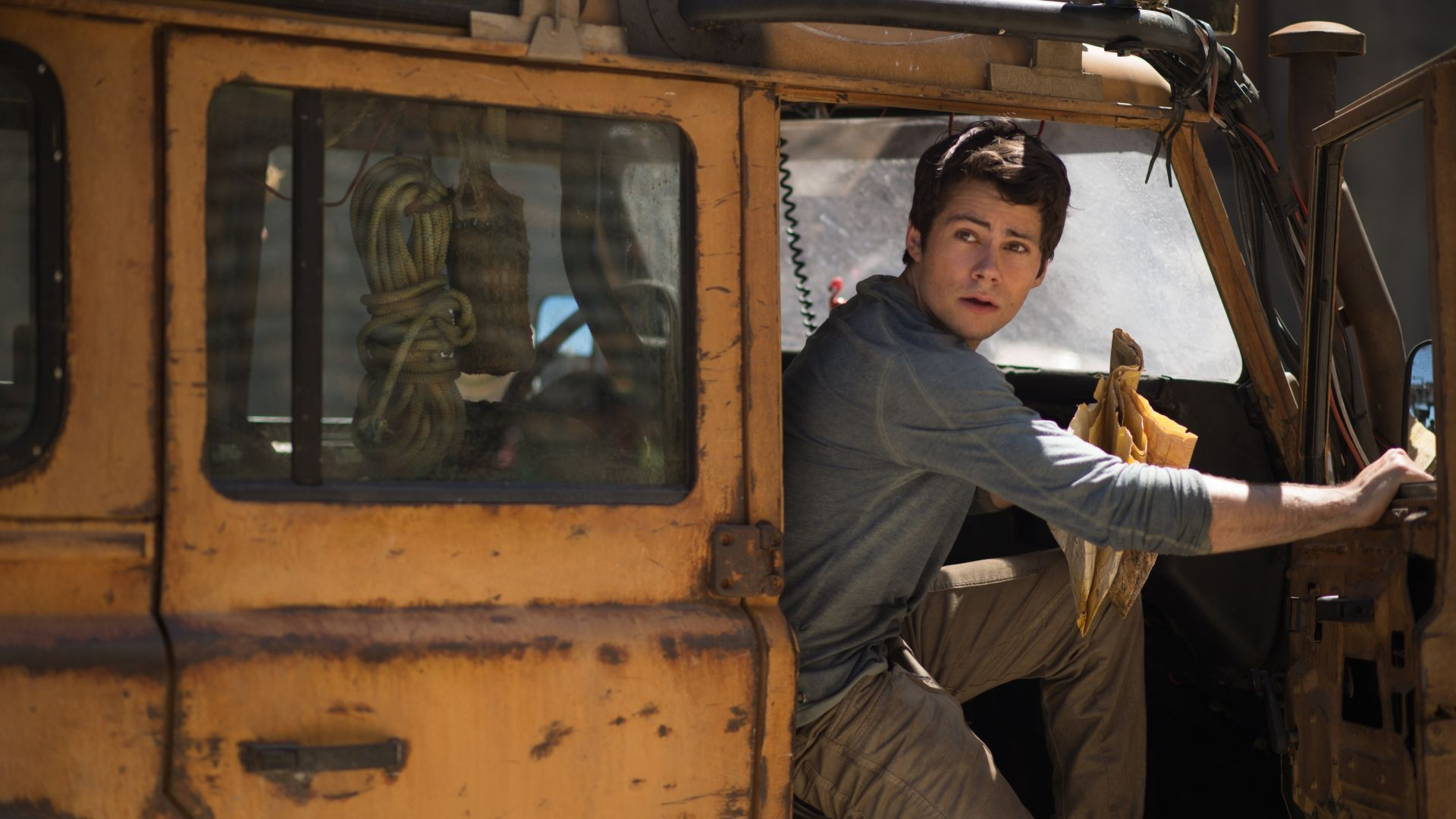 Maze Runner: The Death Cure, Dylan O'Brien, 4k (horizontal)