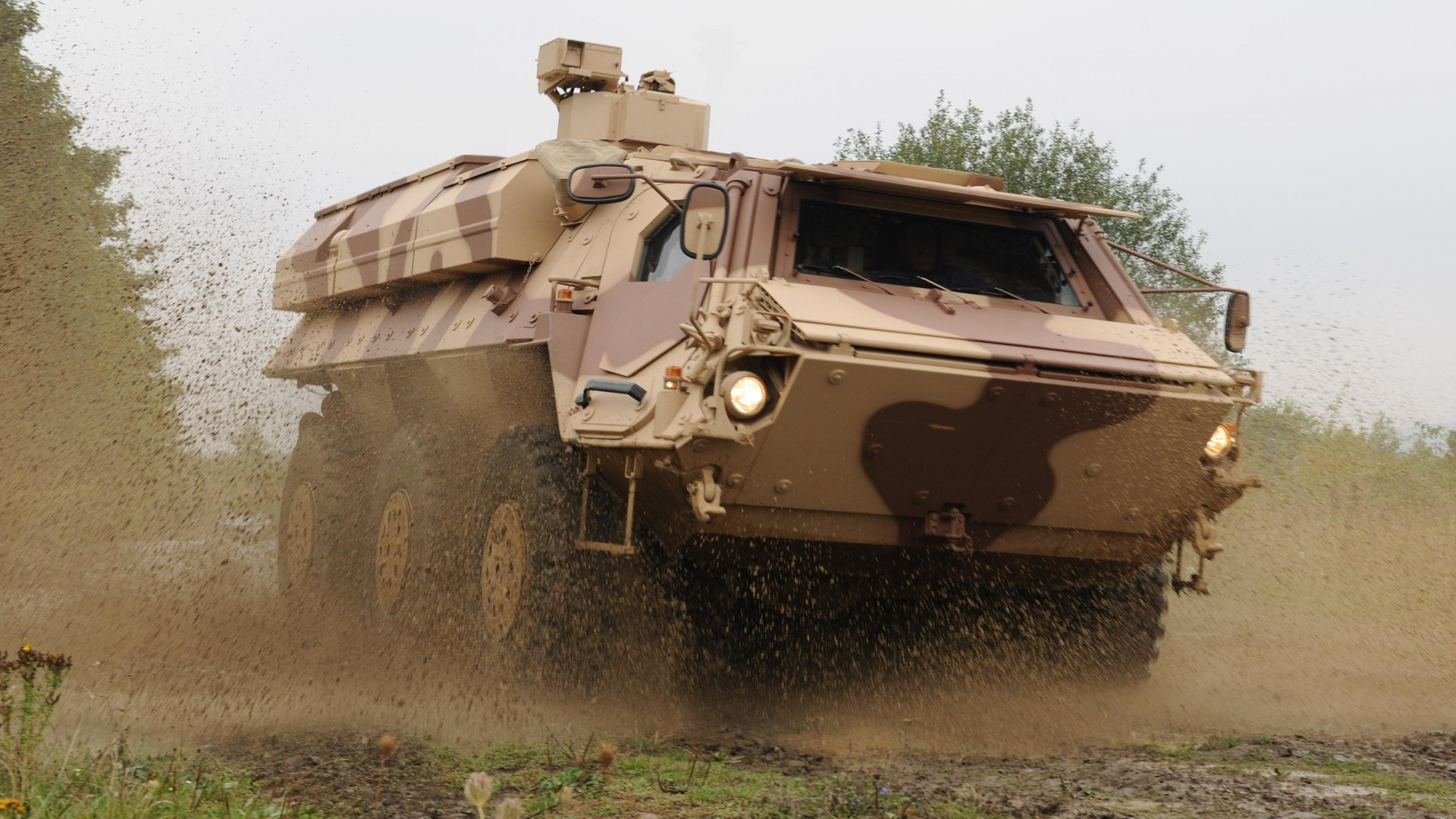 TPz, Fuchs, Fox, 1A3, armoured personnel carrier, APC, Bundeswehr, M93A1 (horizontal)