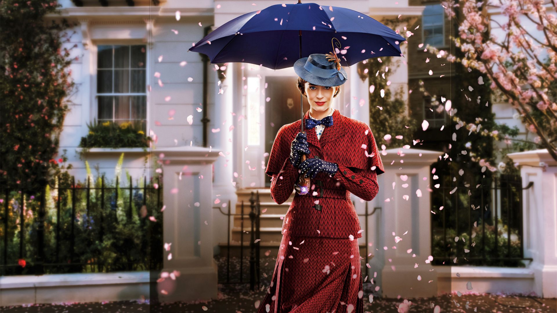 Mary Poppins Returns, Emily Blunt, poster, 8K (horizontal)