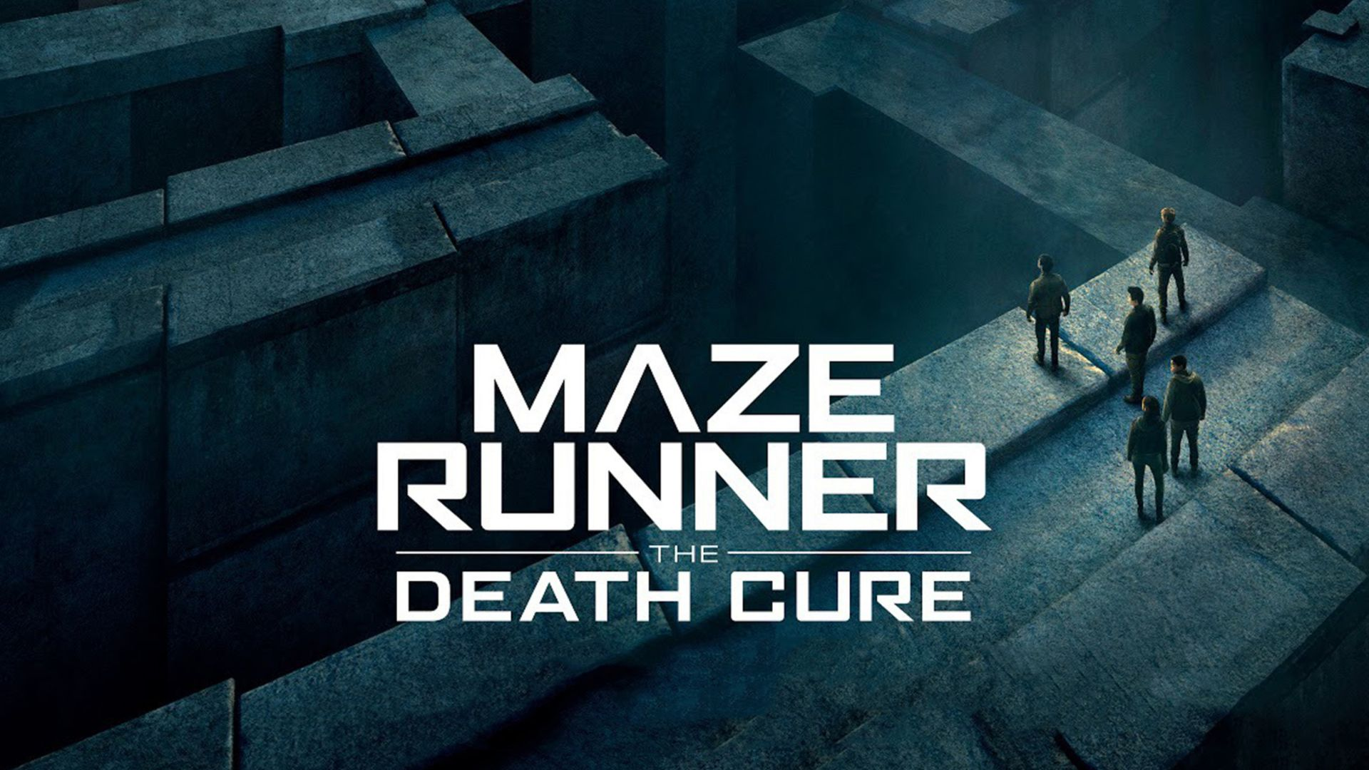 Maze runner death cure movie poster