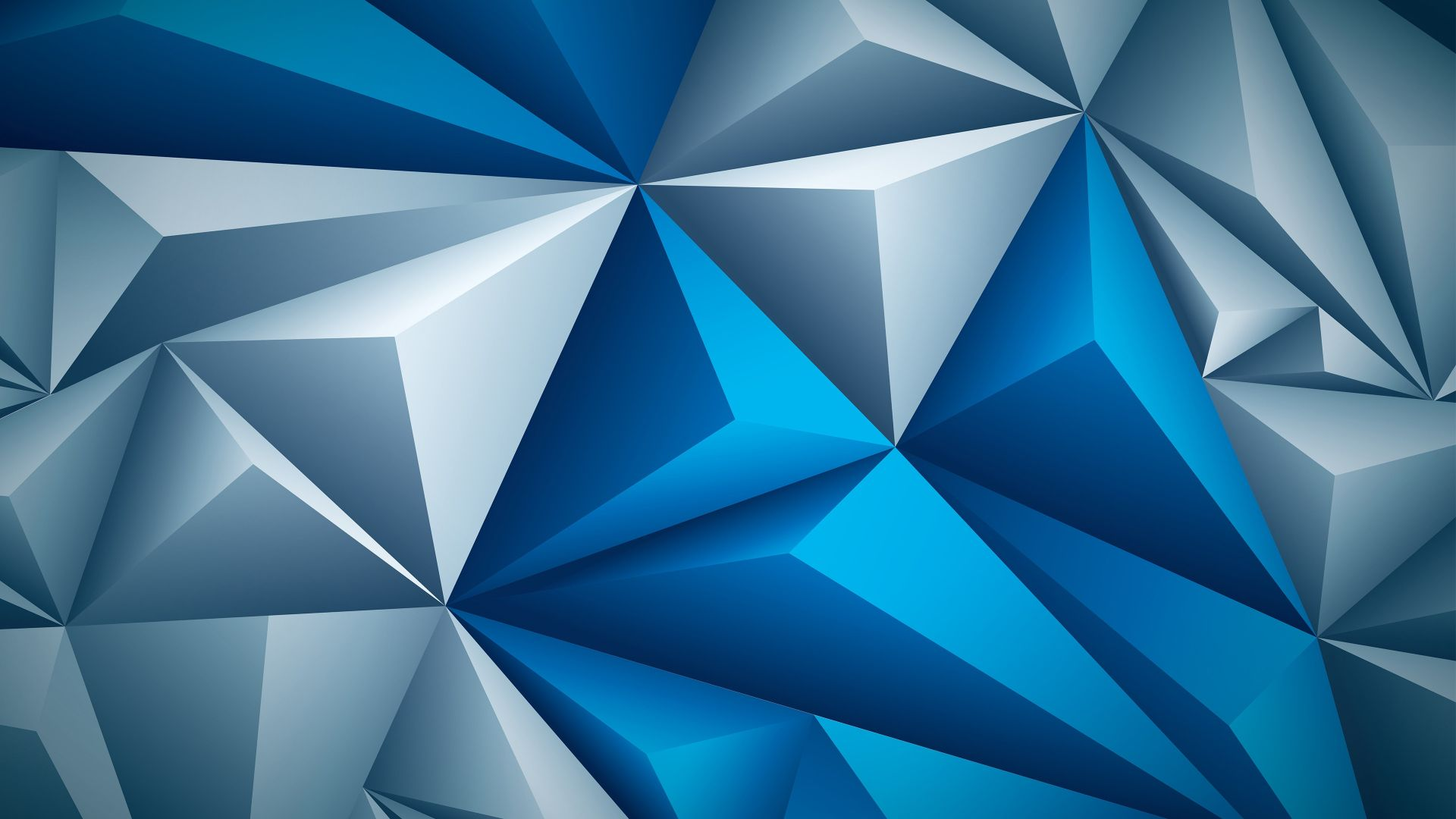 abstract, triangle, 3D, 4k (horizontal)