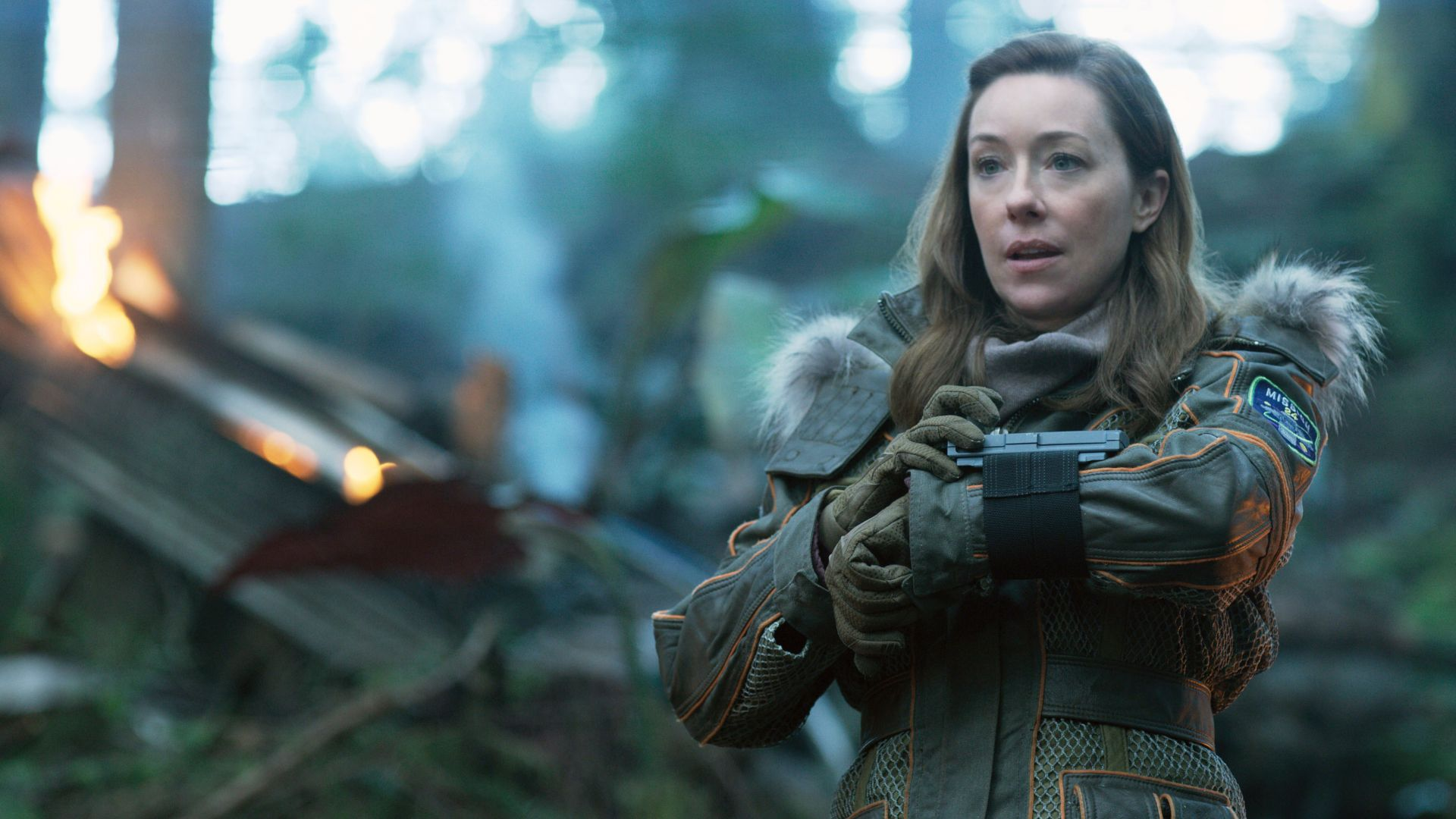 Lost In Space Season 1, Molly Parker, TV Series, 4k (horizontal)