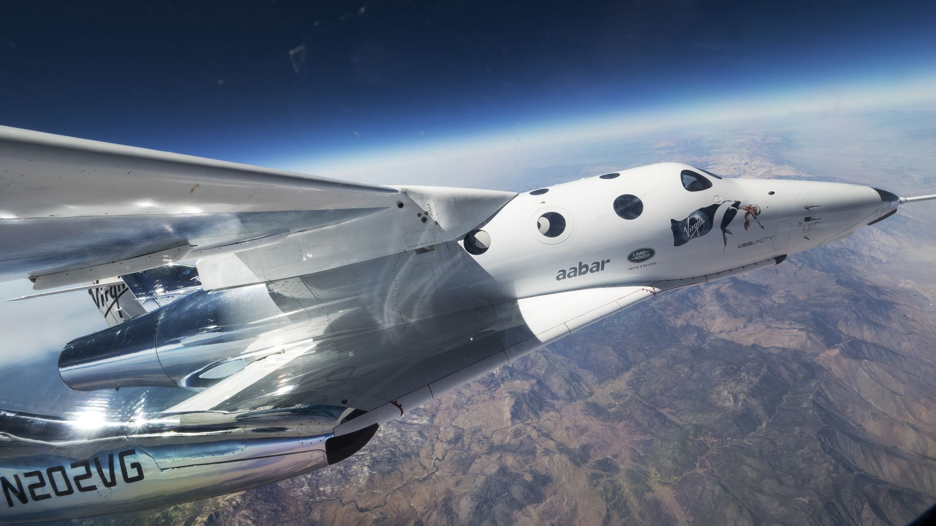Space ShipTwo, VSS Unity, Space Tourism (horizontal)