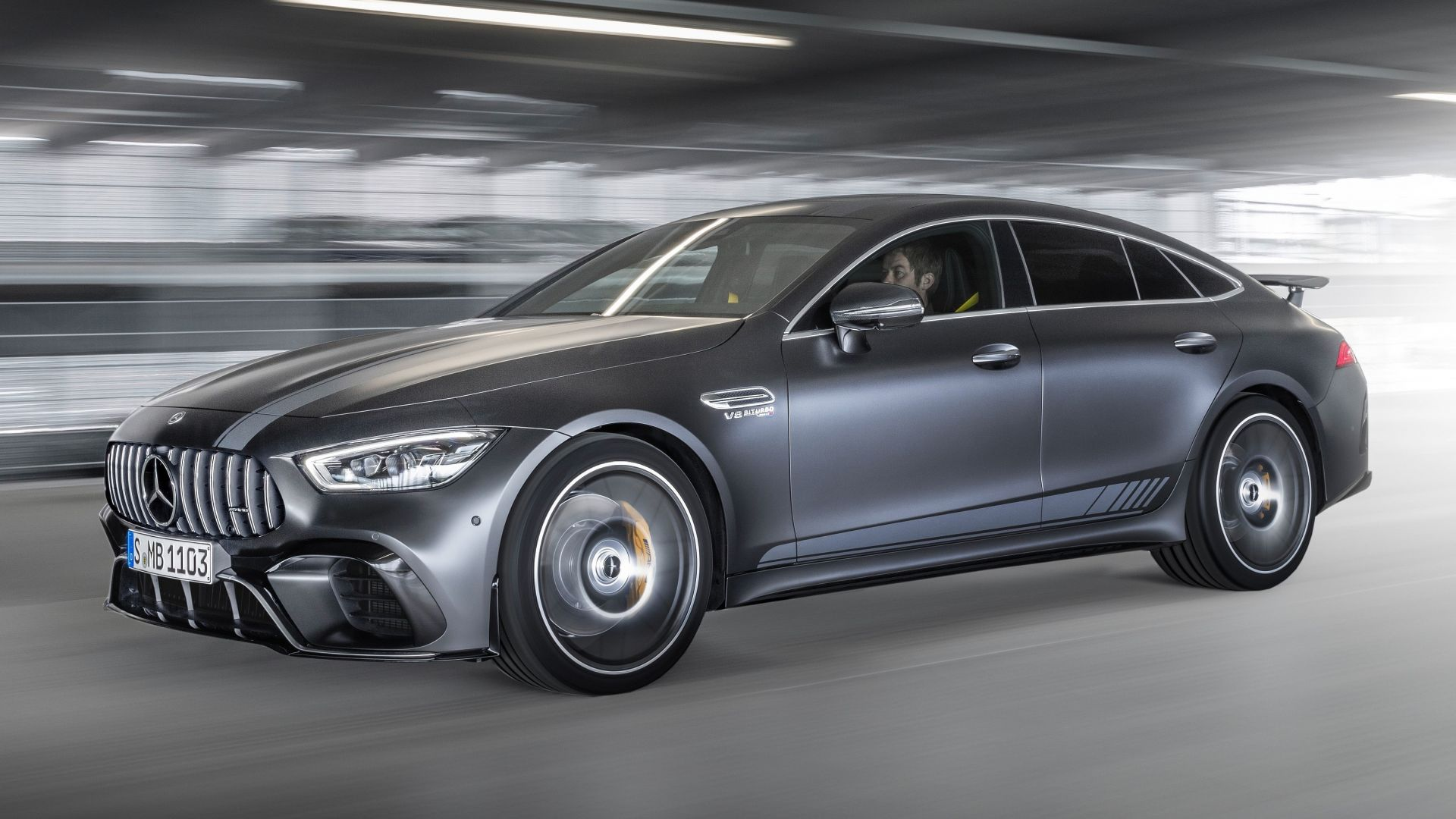 Mercedes-Benz AMG GT63 S 4-Door Edition, 2019 Cars, 4K (horizontal)