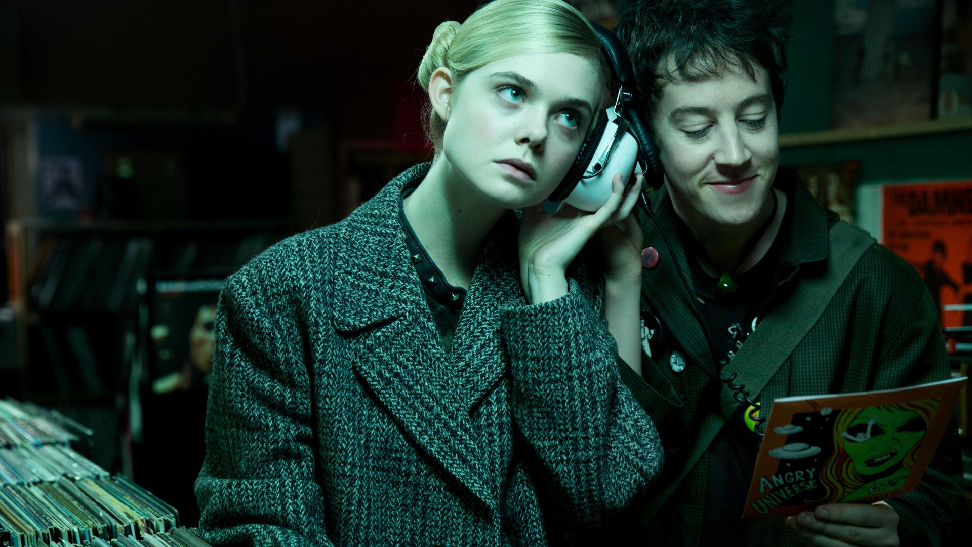 How to Talk to Girls at Parties, Elle Fanning, Alex Sharp, 4K, 6K (horizontal)