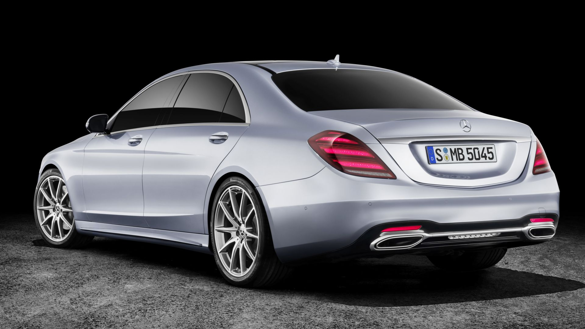 Mercedes-Benz W222 S-Class Facelift, 2018 Cars, 4K, 7K (horizontal)