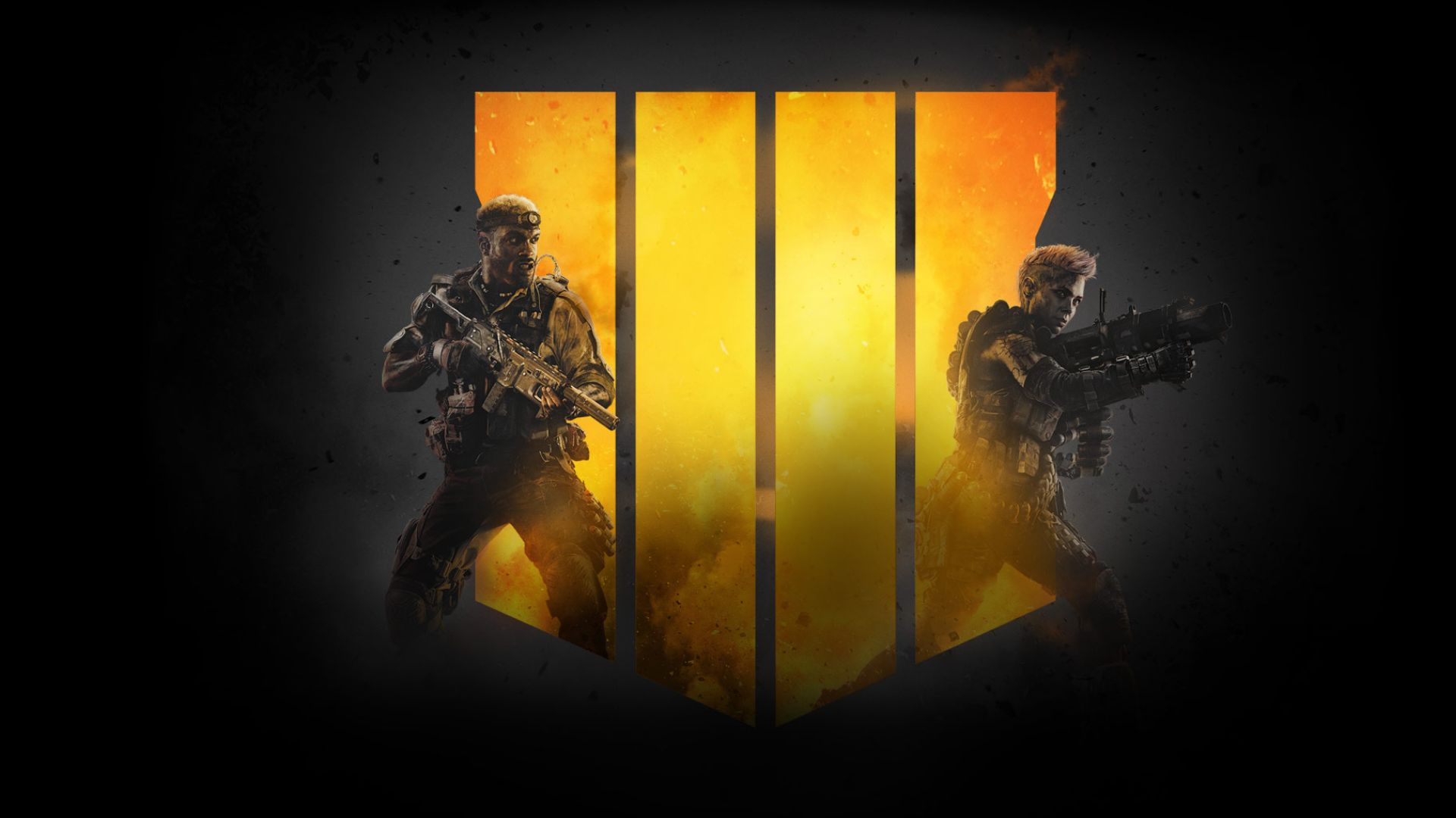 Call of Duty Black Ops 4, poster, 4K (horizontal)